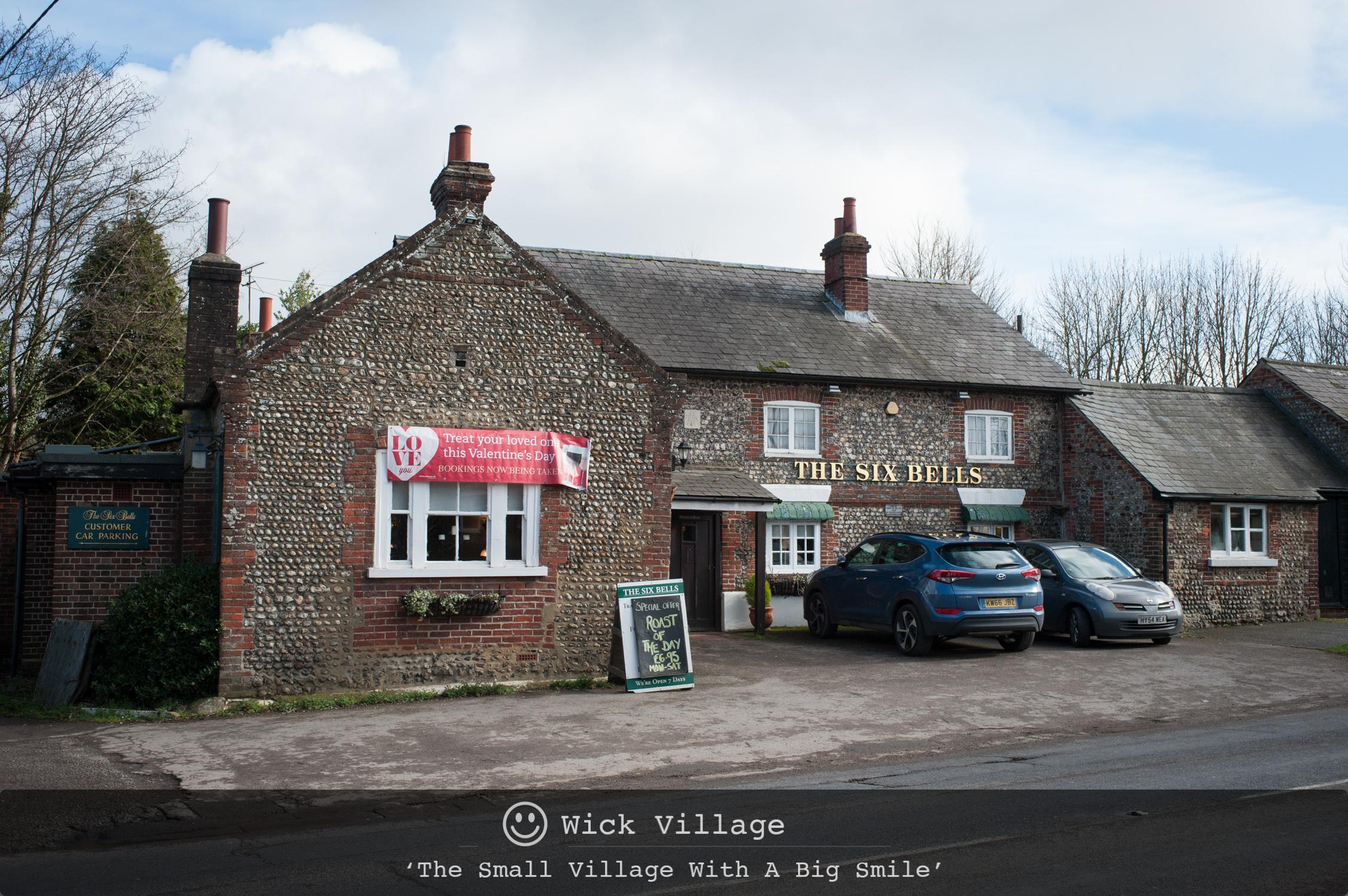 The Six Bells, Wick Village, Littlehampton.