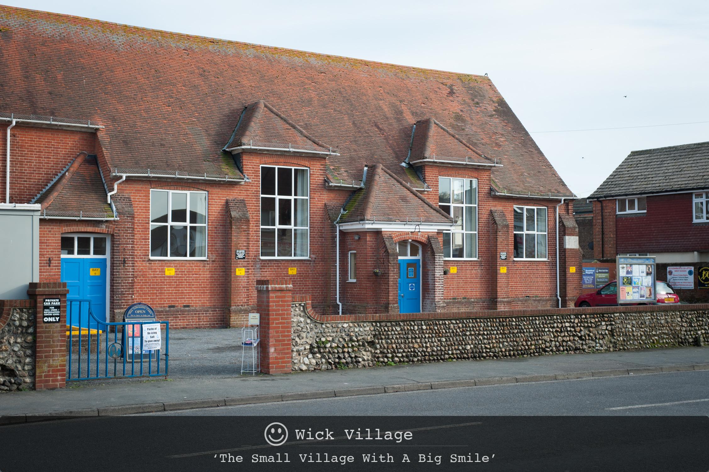 Wick Hall, Wick Village, Littlehampton.