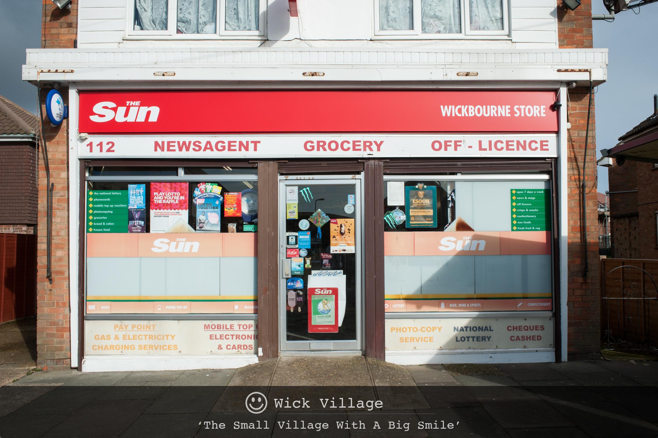 Wickbourne Store, Wick Village, Littlehampton.