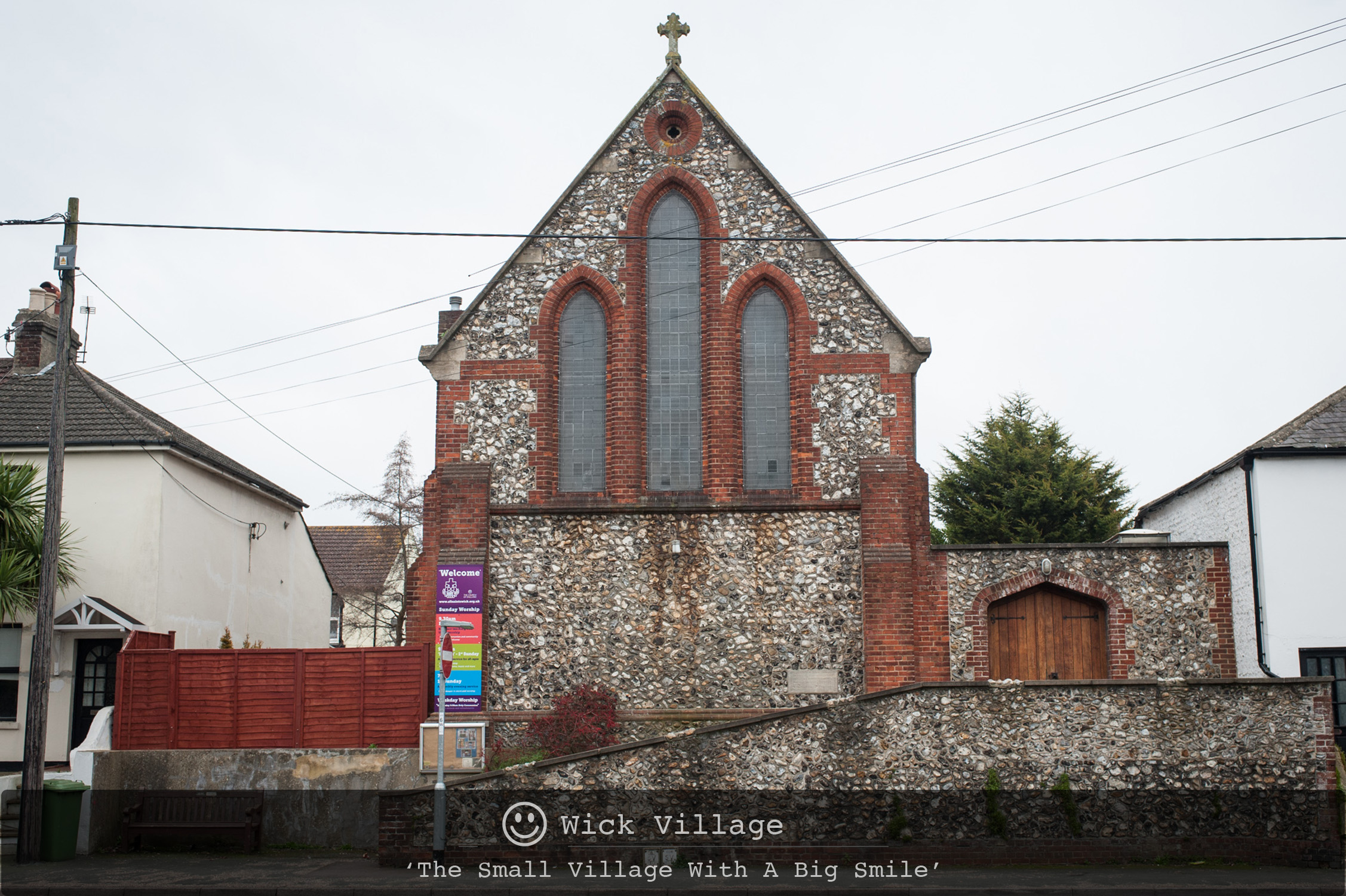 All Saints Church, Wick Village, Littlehampton.