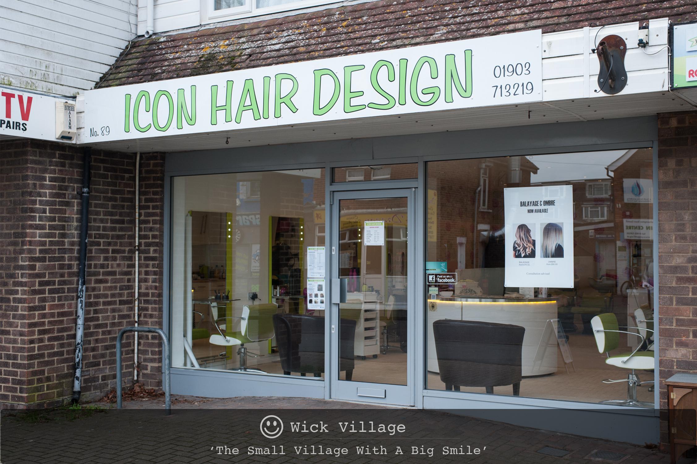 Icon Hair Design, Wick Village, Littlehampton.