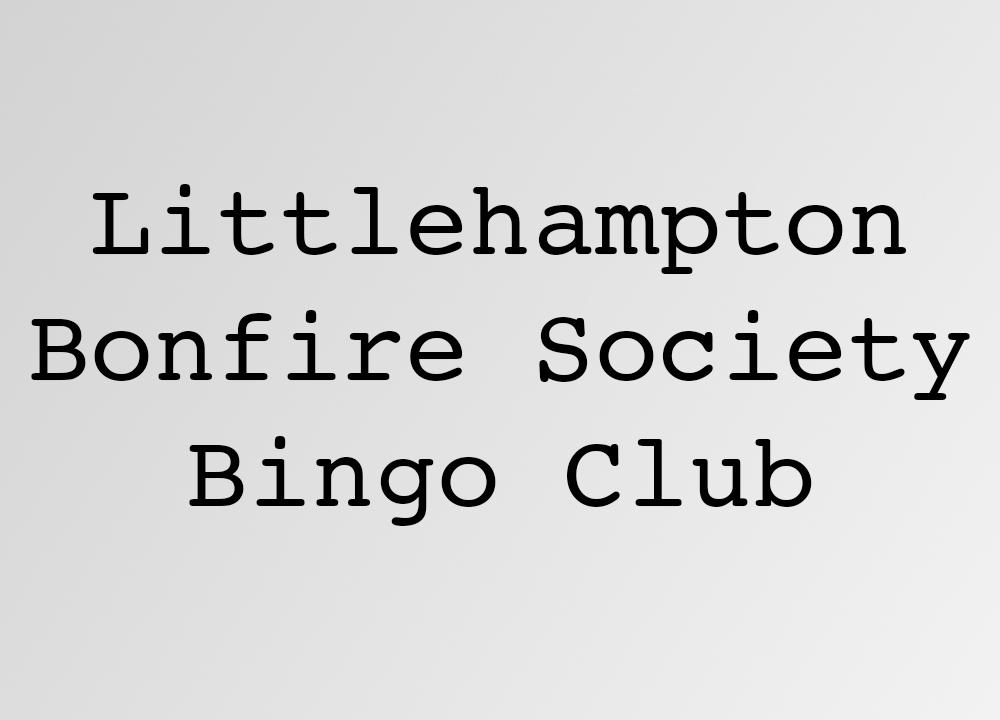 Littlehampton Bonfire Society Bingo Club