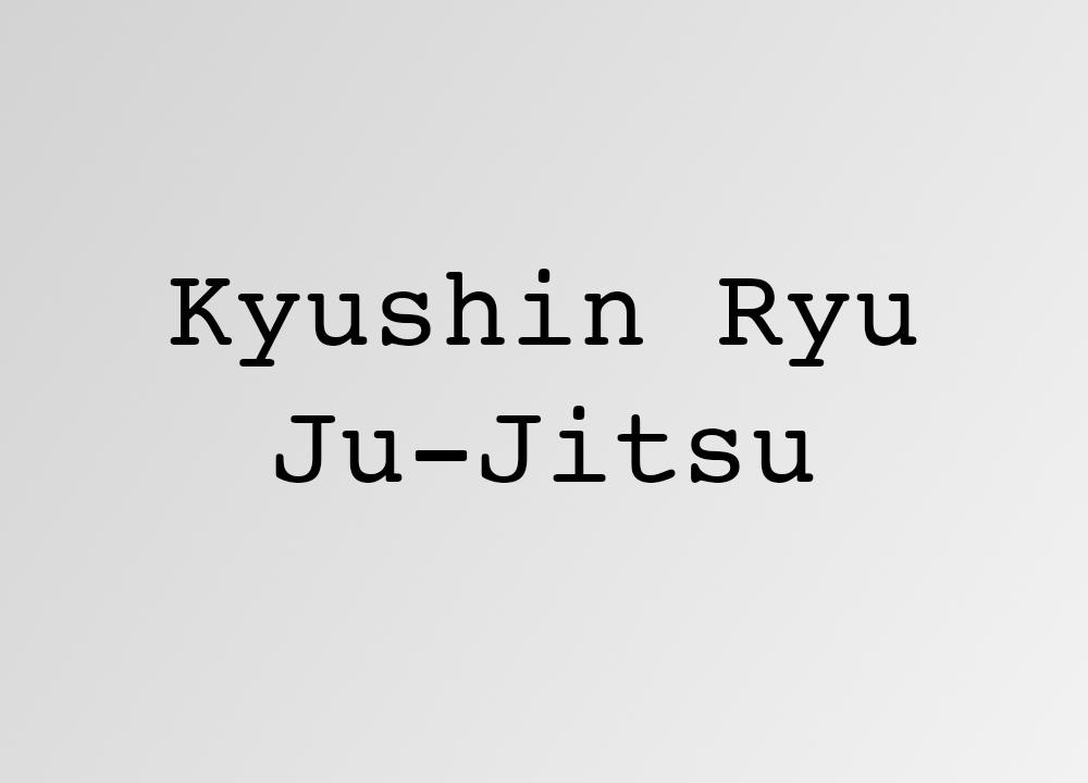 Kyushin Ryu Ju-Jitsu