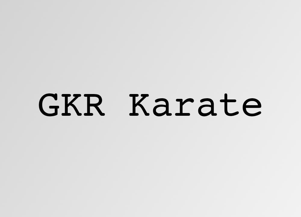 GKR Karate
