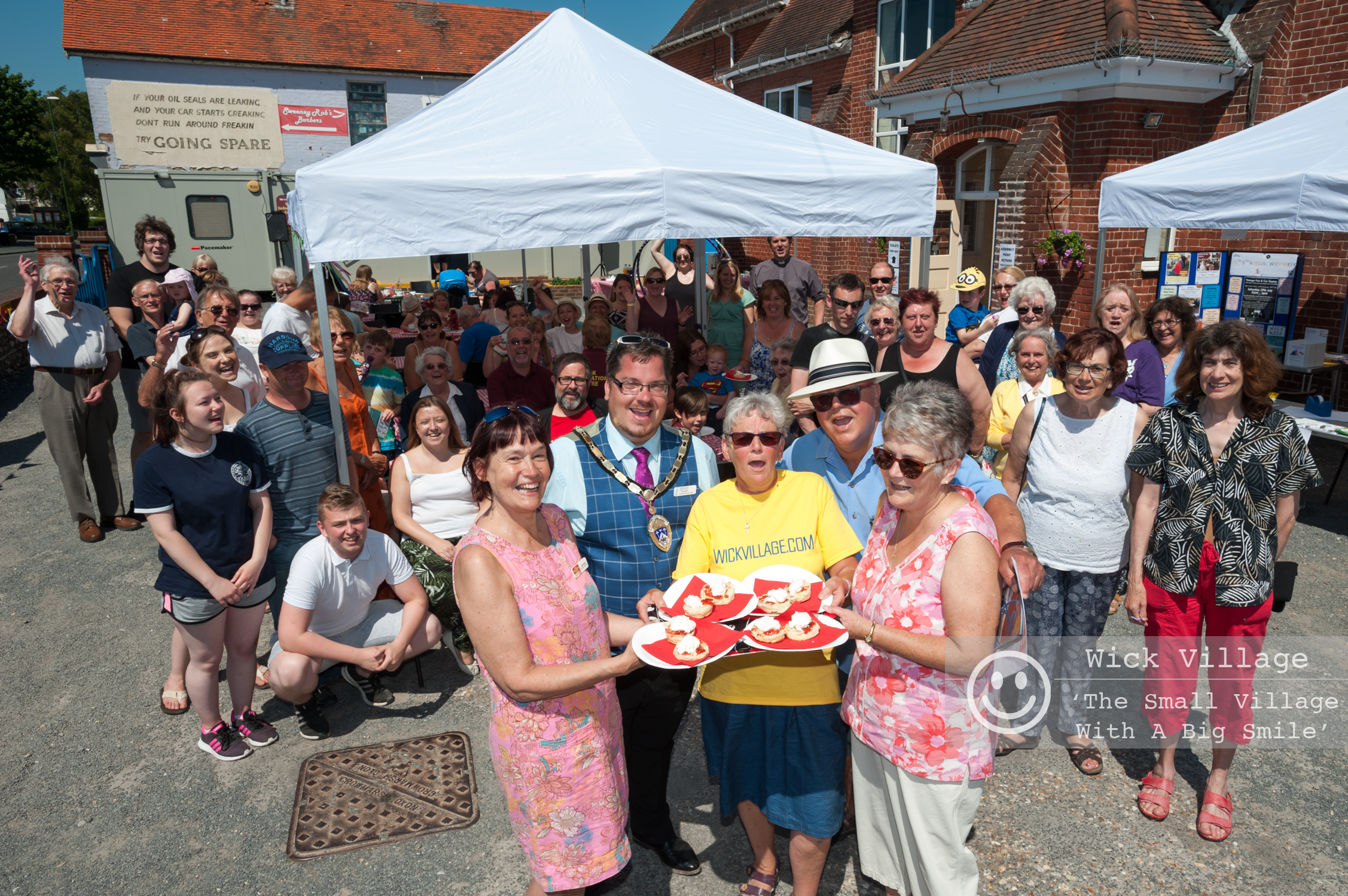 The Wick Village community Great Get Together © Scott Ramsey