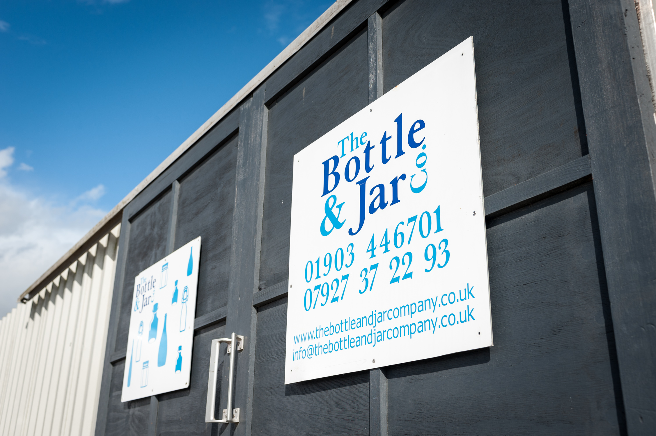 From their business premises in Wick, West Sussex,  The Bottle And Jar Company , fulfil and dispatch orders to their customers across the UK. Photo © Scott Ramsey  www.scottramsey.co.uk