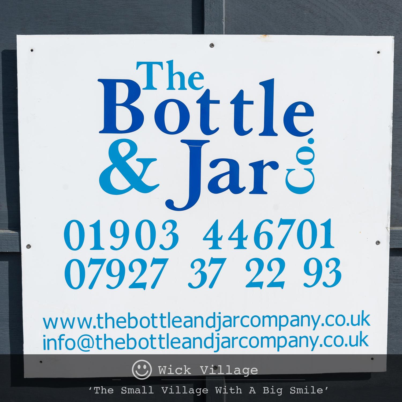 The Bottle And Jar Company in Wick, Littlehampton, West Sussex.