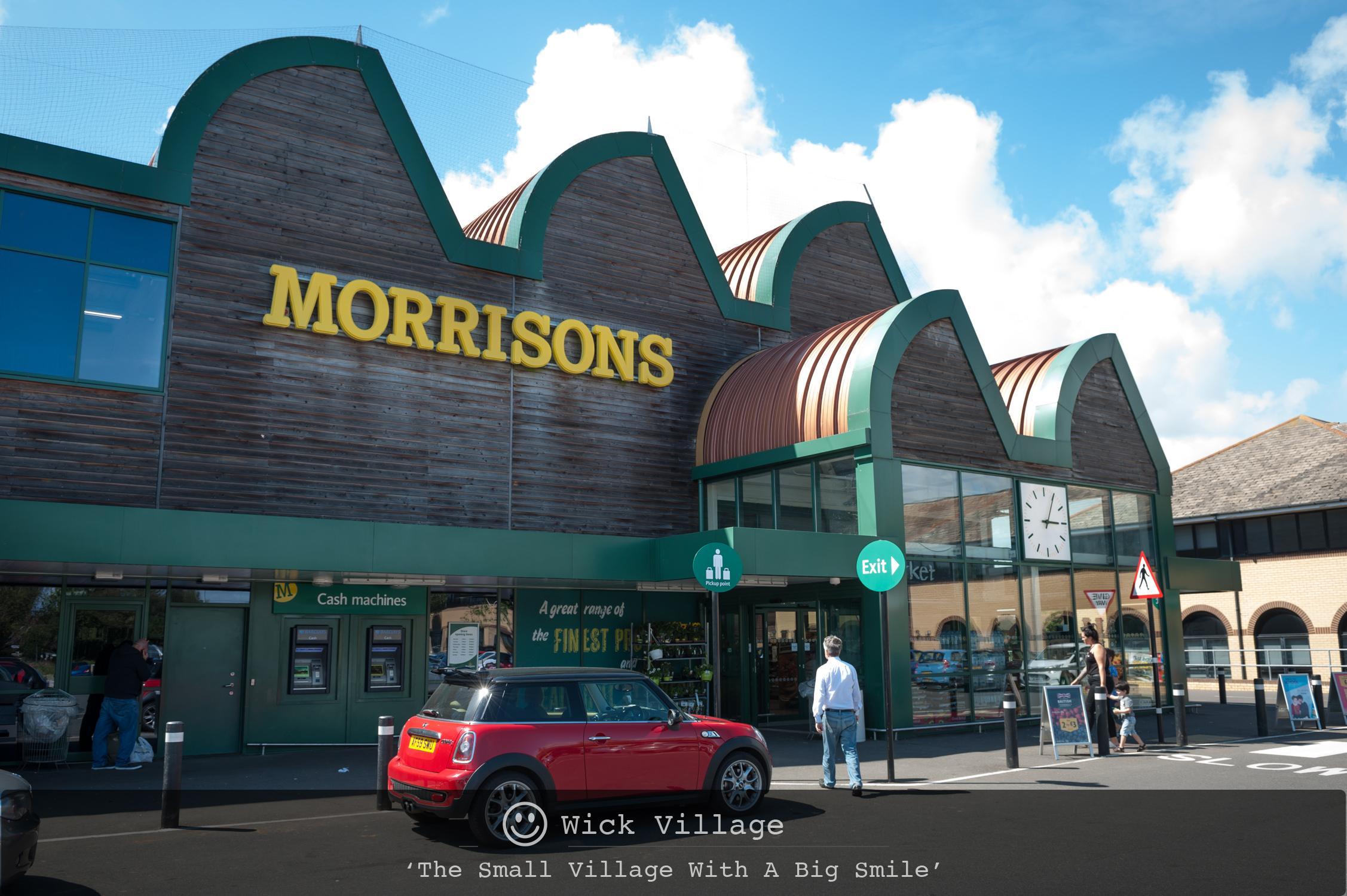 The Littlehampton Morrisons store in Wick,Littlehampton.