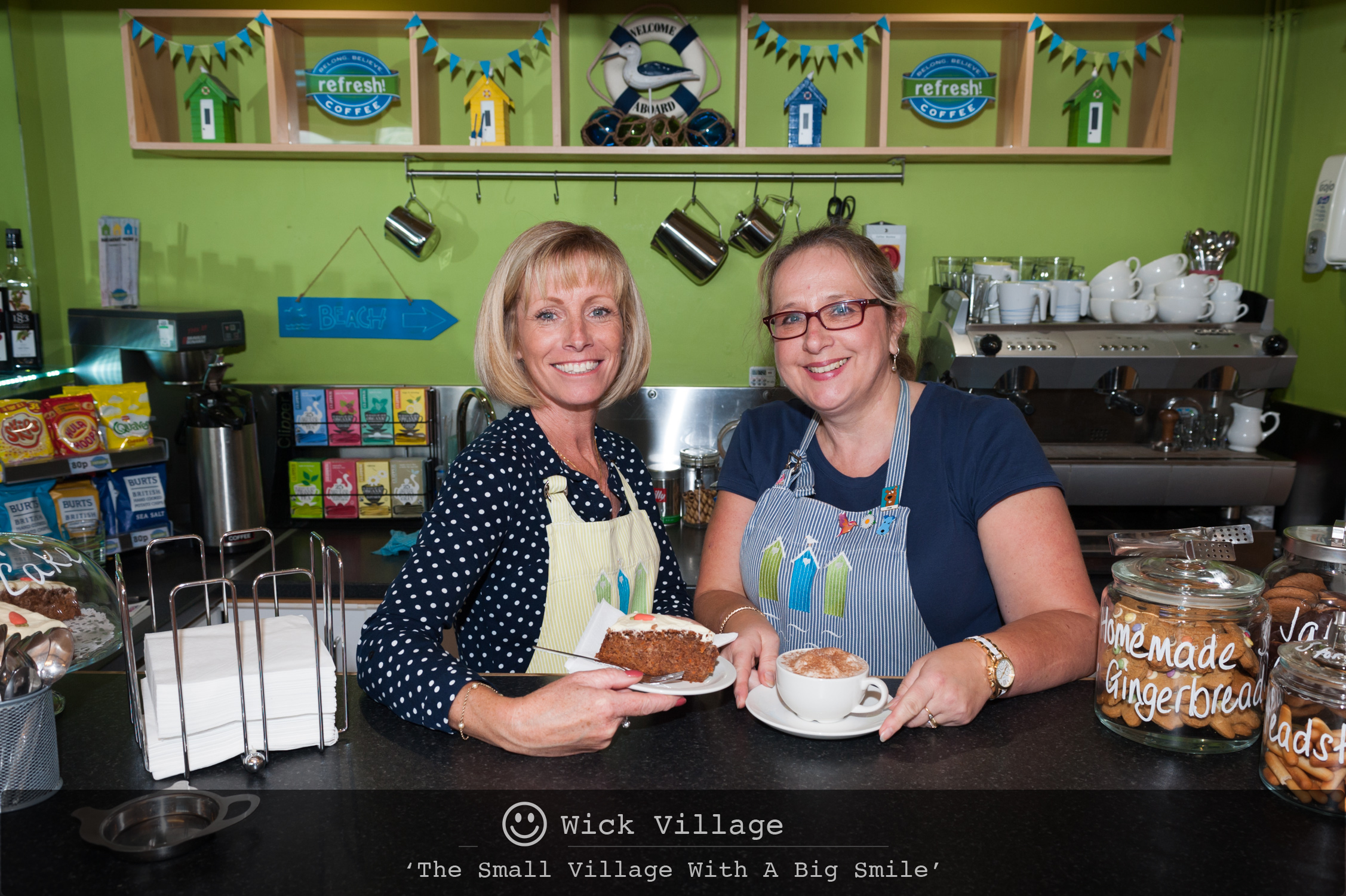 Refresh Coffee Shop at the Wickbourne Centre in Wick Village, Littlehampton.