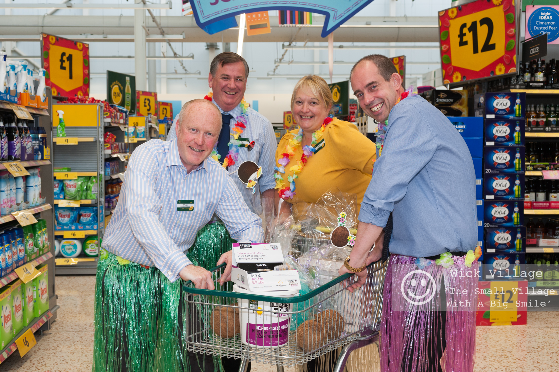 Morrisons Store Charity Event In Wick Village