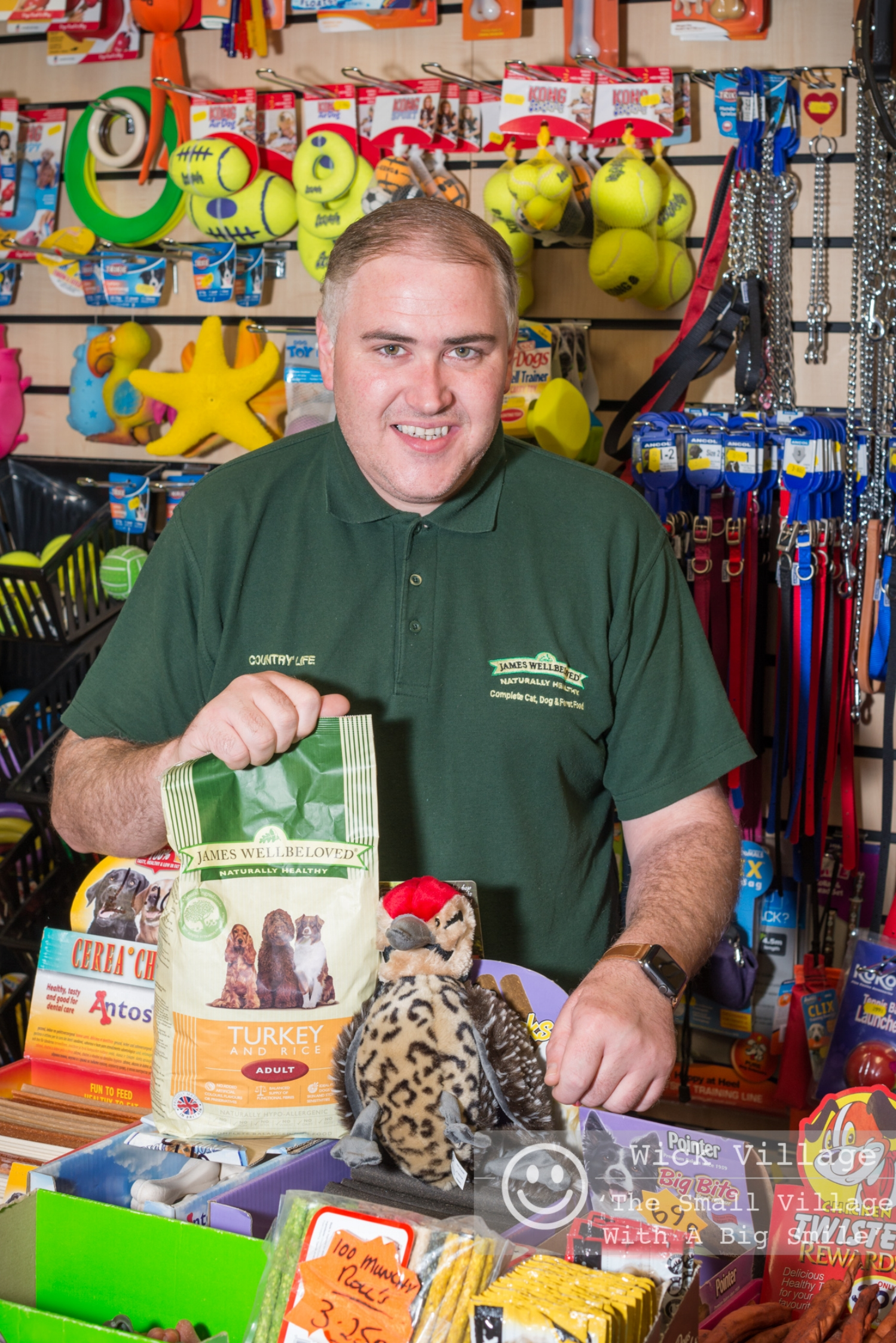 WVT Community Stories Project. Craig from Country Life Pet Suppl