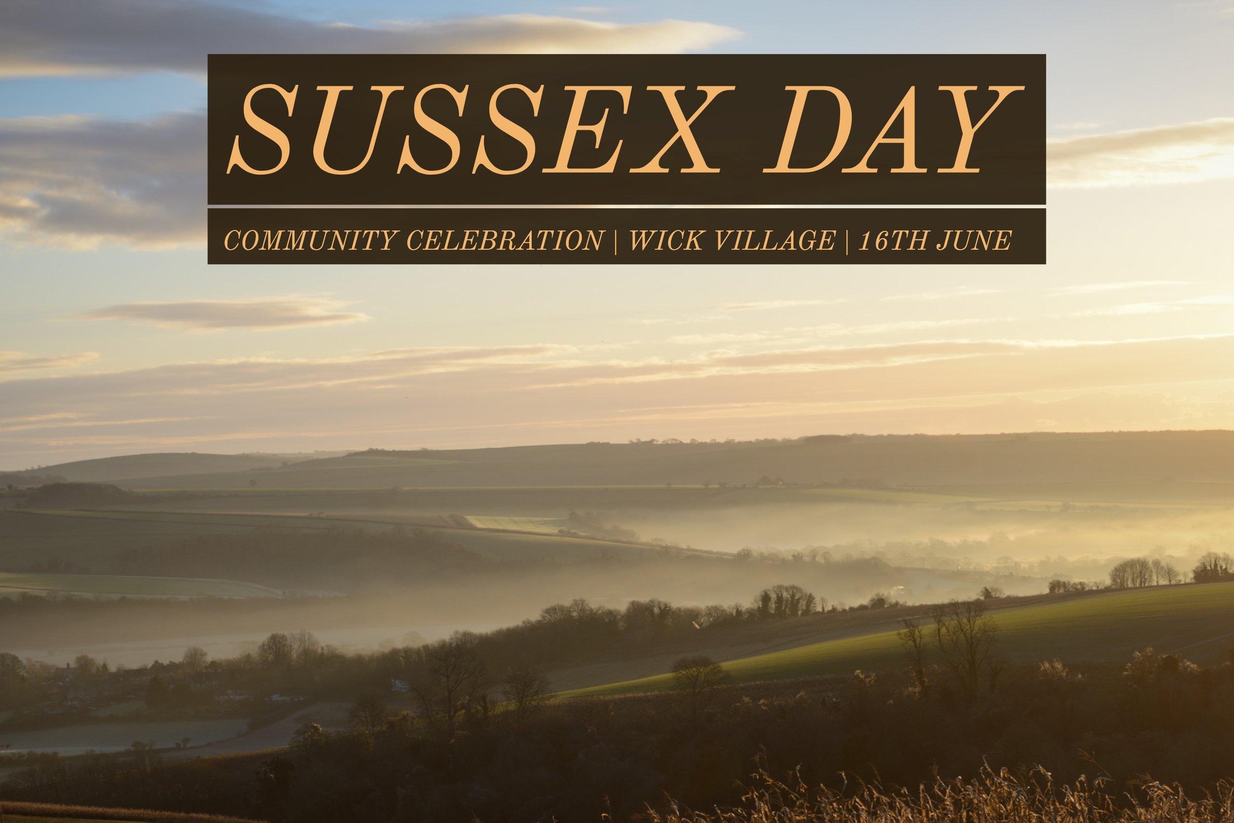 The Wick Village Sussex Day Celebration - Littlehampton, West Sussex.