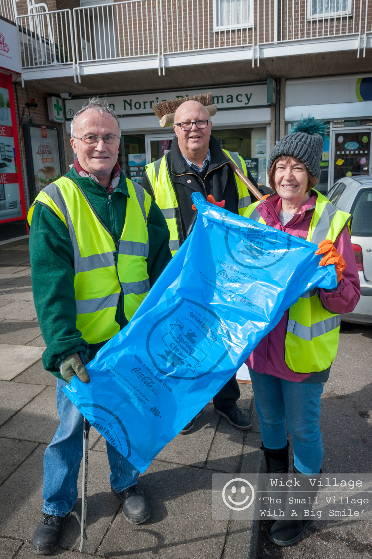 The Great British Spring Clean Of Wick Village