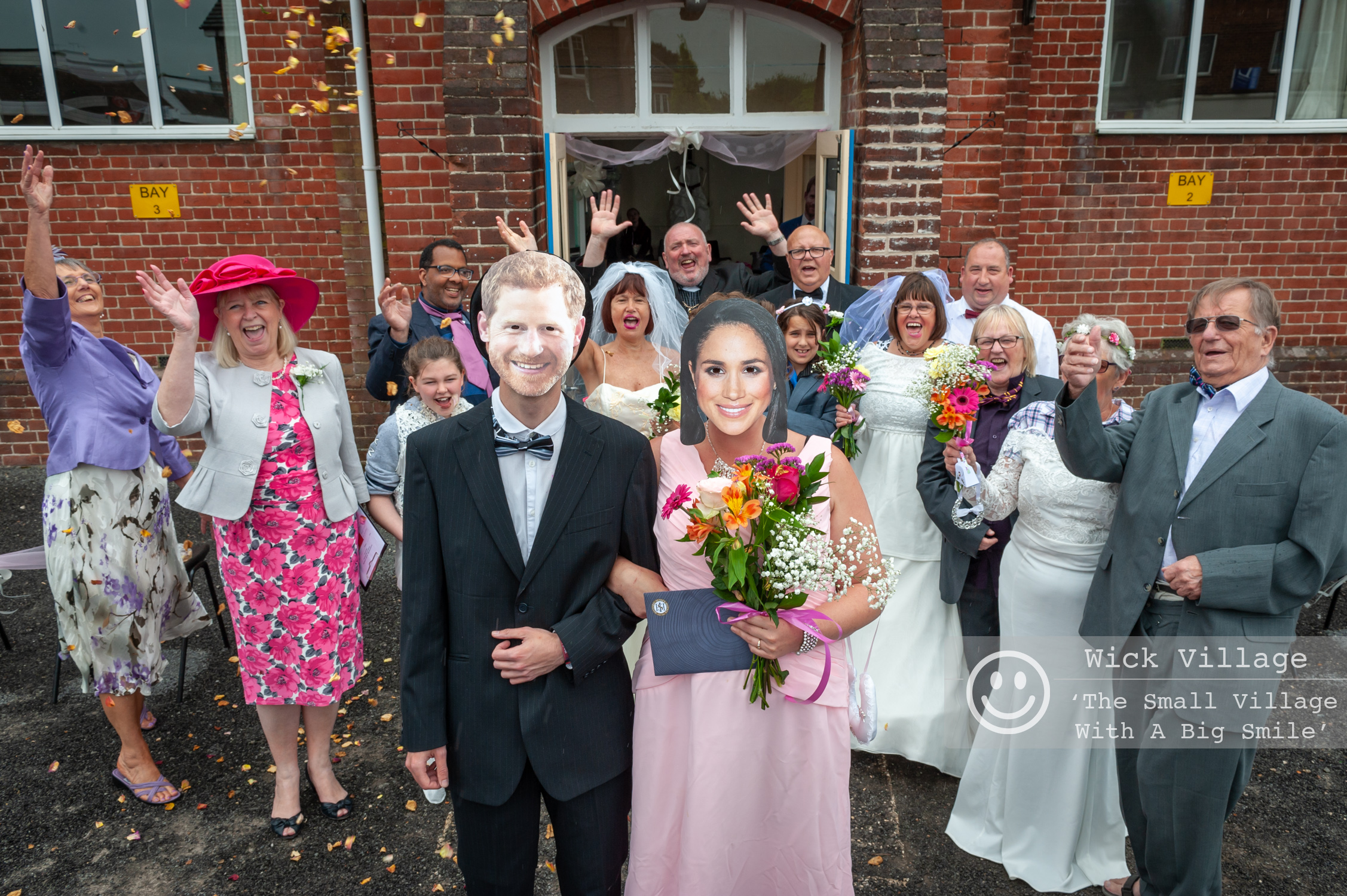 Royal Wedding Celebrations Littlehampton, West Sussex, UK.