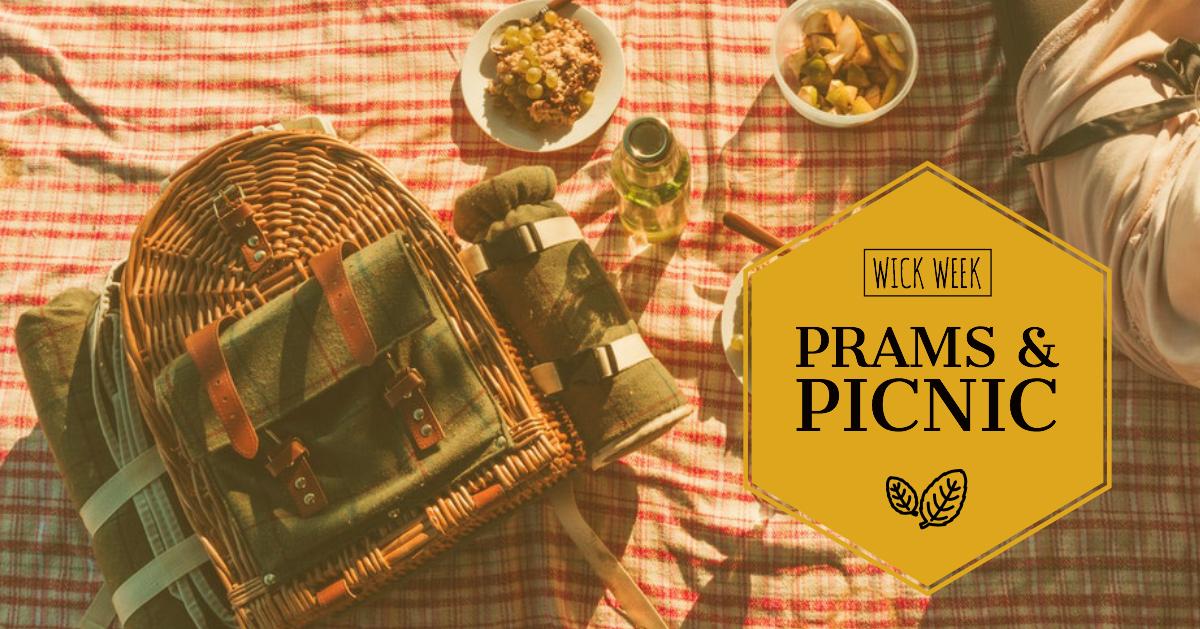 Prams & Picnic In The Park - Wick Week 2018