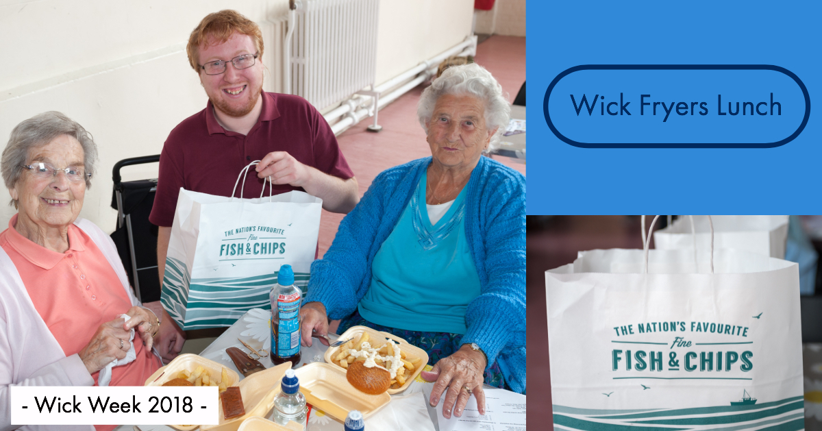 The Wick Fryers Lunch at Wick Week 2018