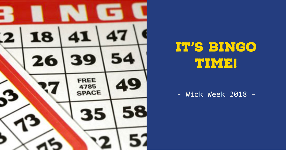 Bingo With The 50 Up Club At Wick Week 2018.
