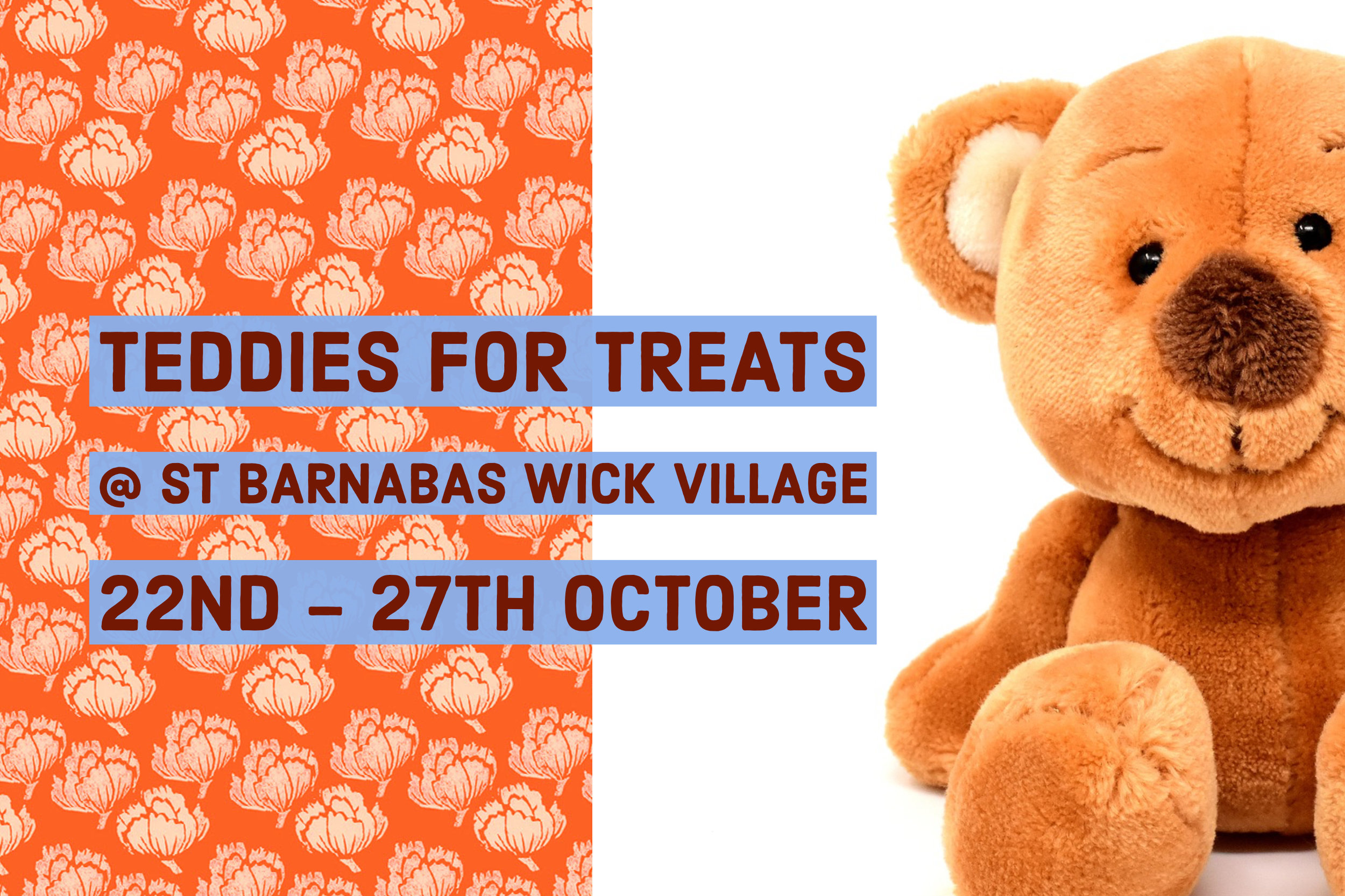 The Teddies For Treats event at St Barnabas House Charity Shop in Wick Village, Littlehampton.
