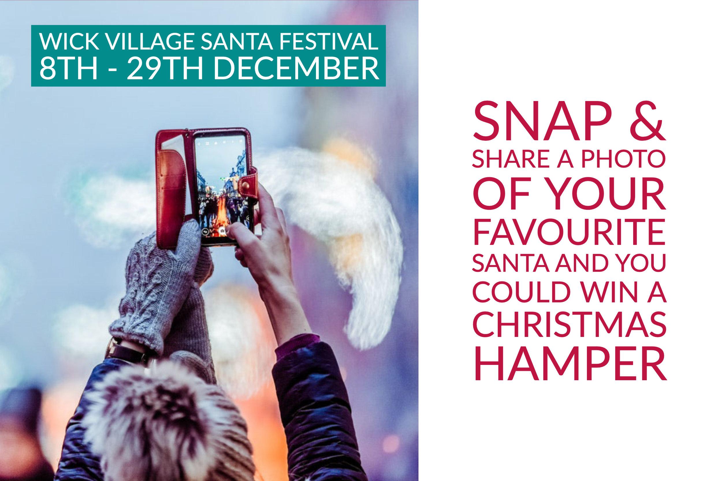 The Wick Village Santa Festival Photo Competition.