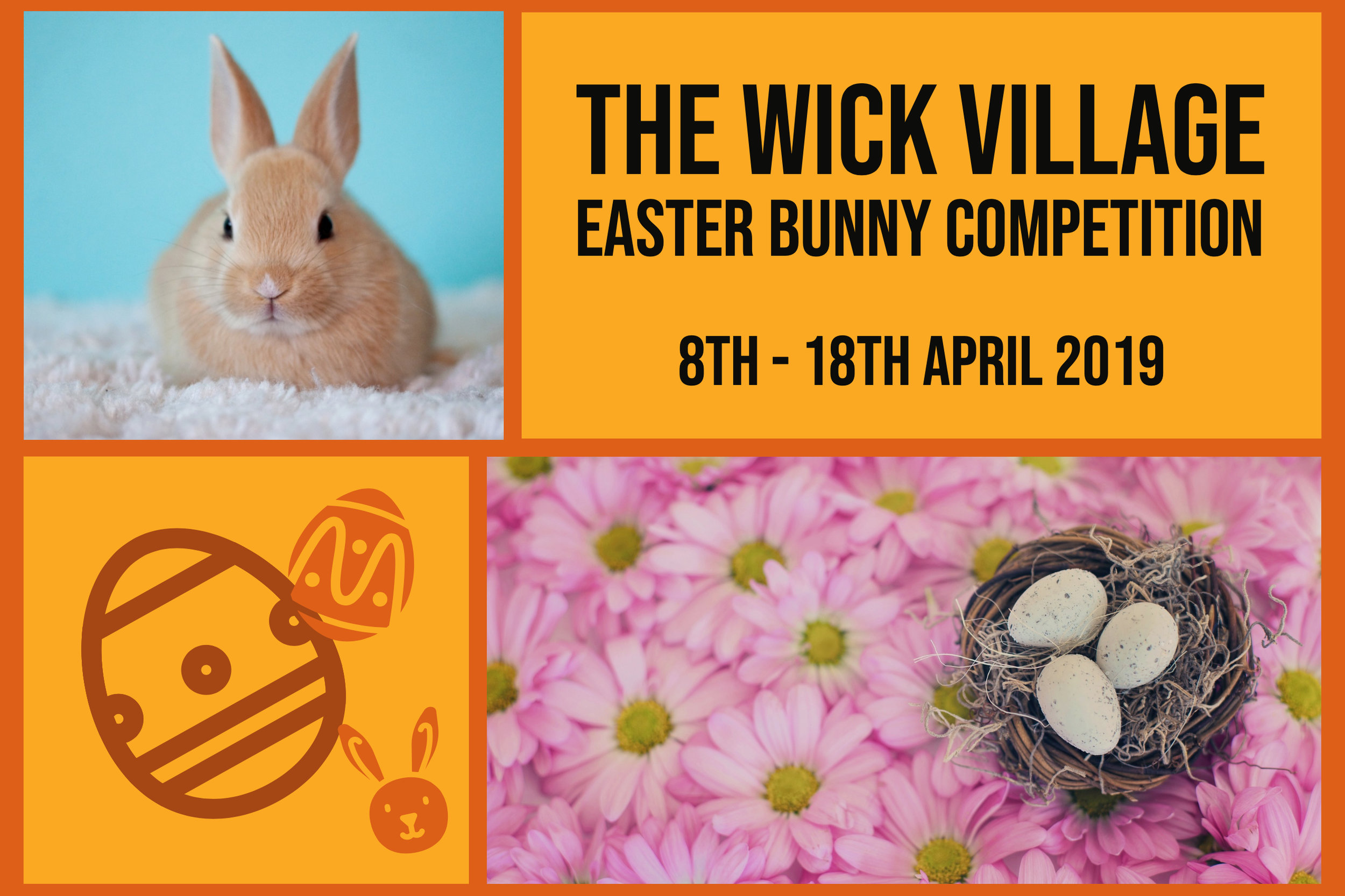The Wick Village Easter Bunny Competition 2019.