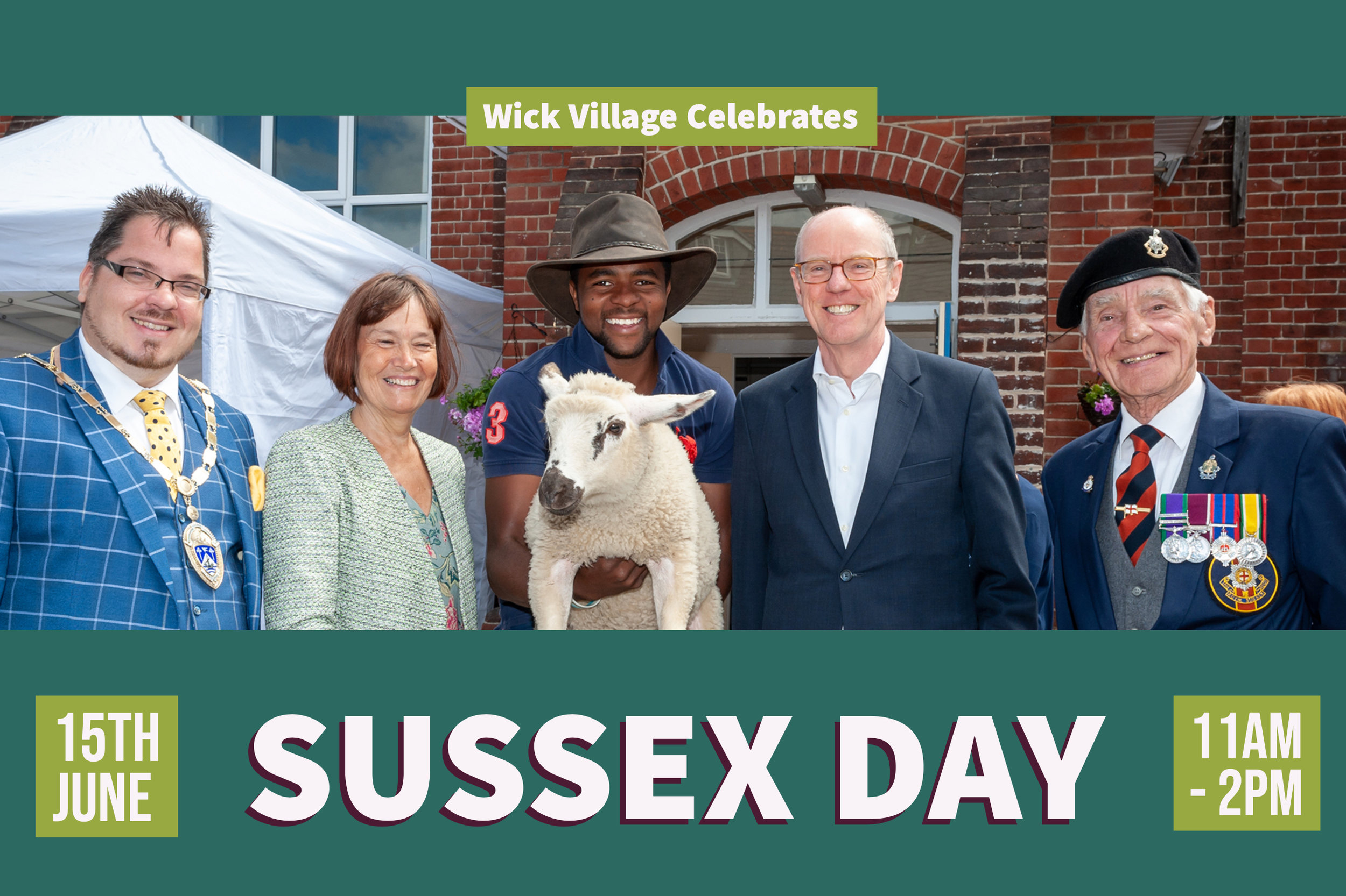 Sussex Day celebrations at Wick Village.
