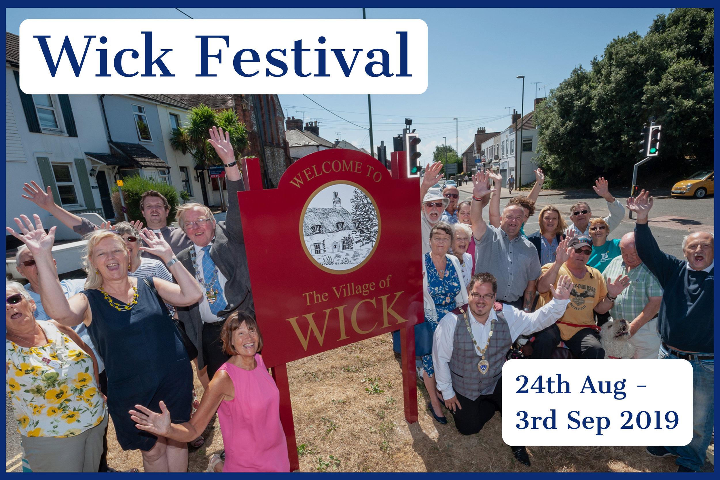 Wick Festival 2019.