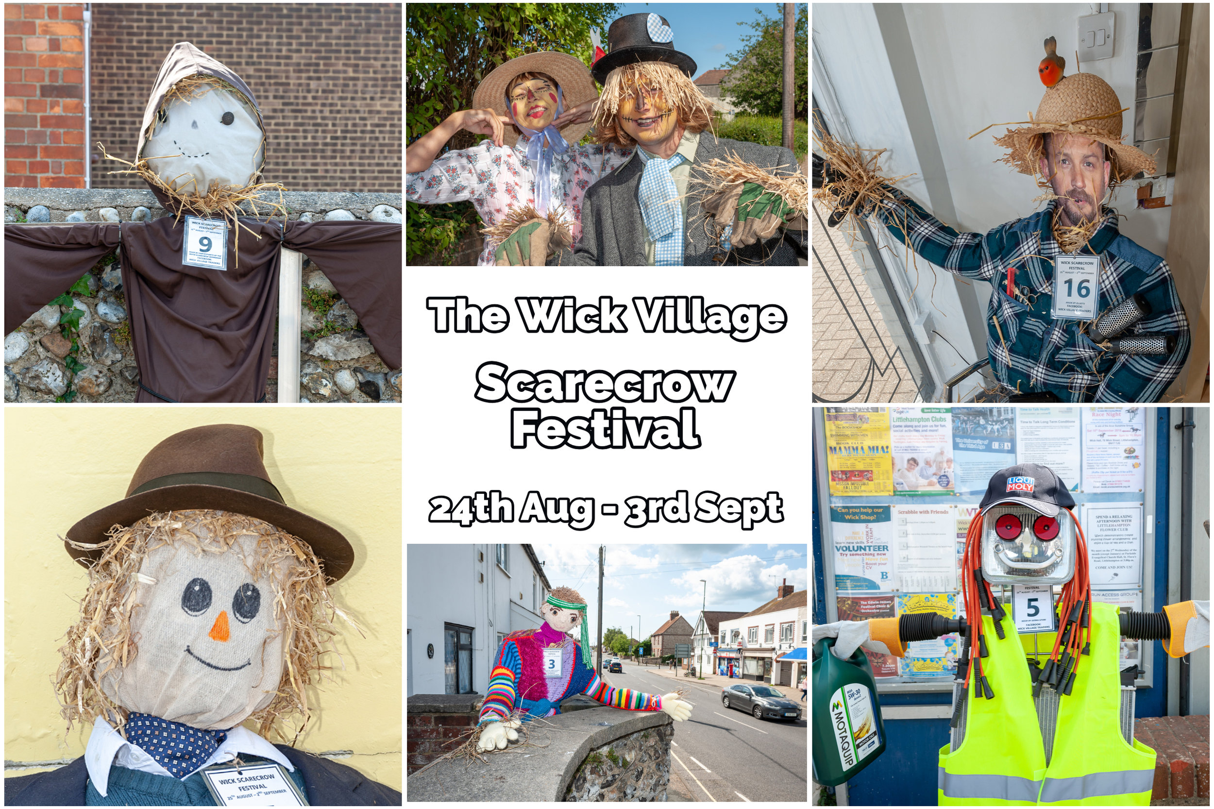 The Wick Village Scarecrow Festival 2019.
