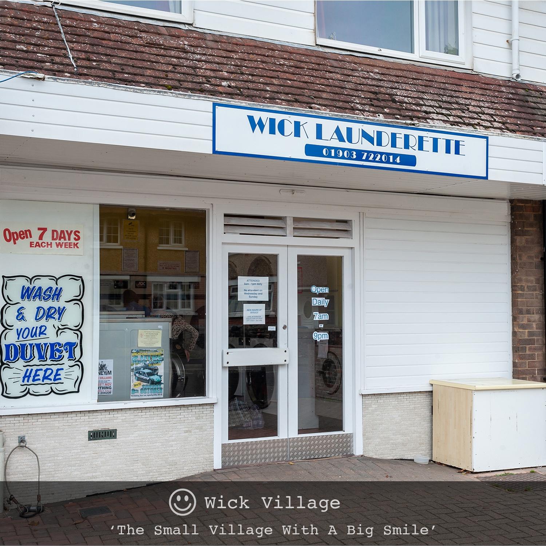 Wick Launderette, Wick Village, Littlehampton.
