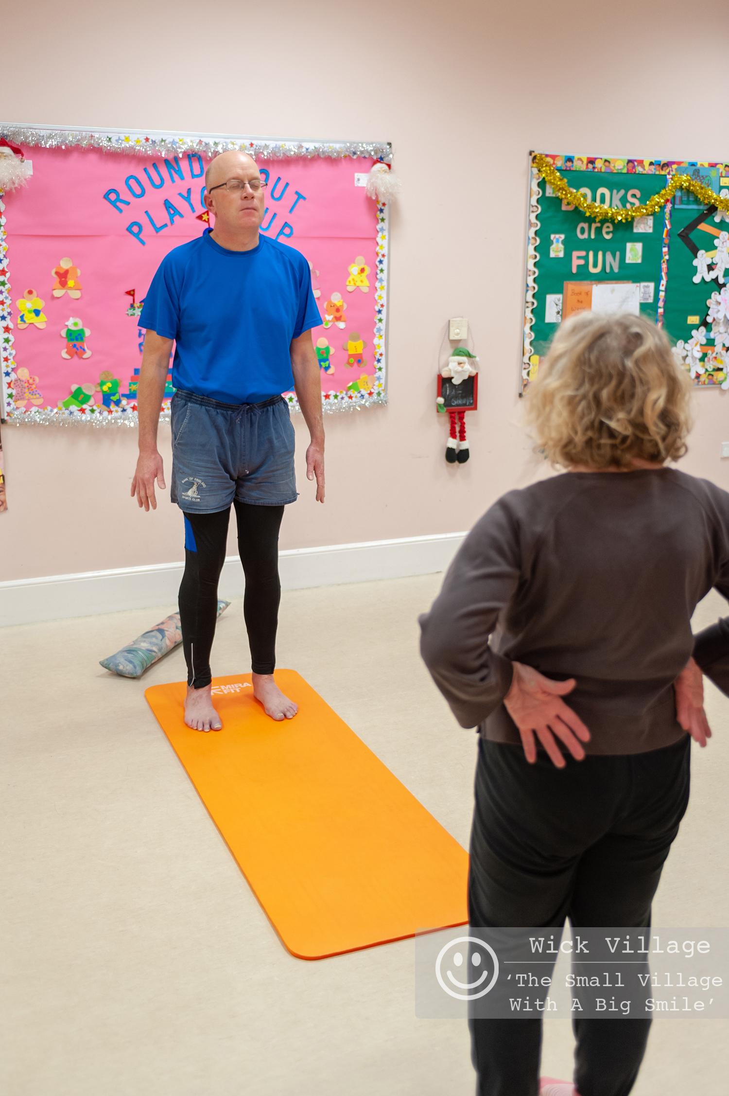 Man Yoga At Wick Hall