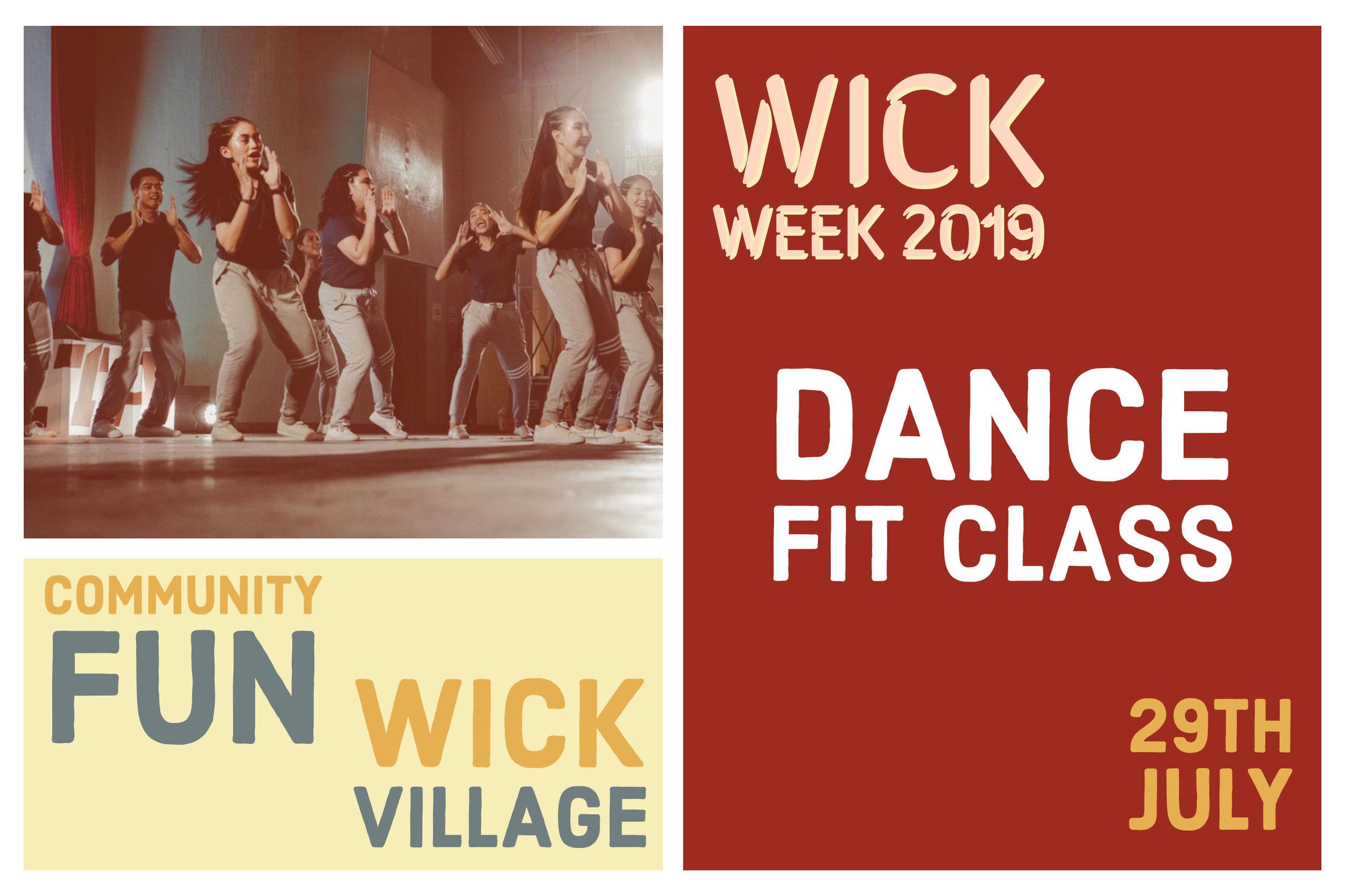 Wick Week 2019 Dance Fit Class