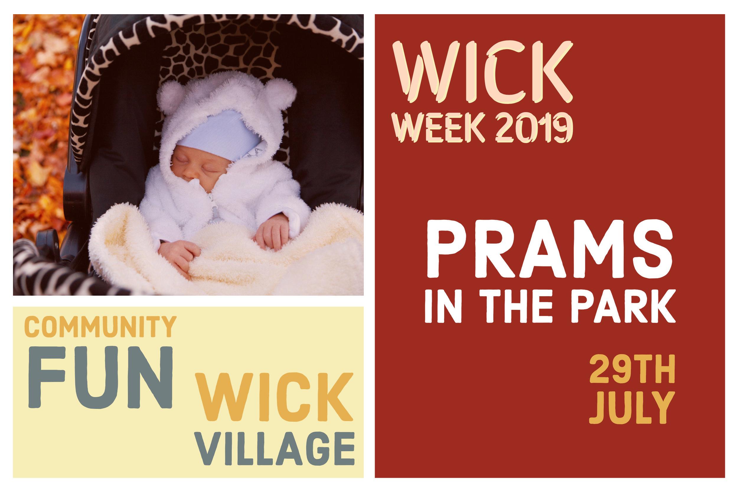 Wick Week 2019 - Prams In The Park.