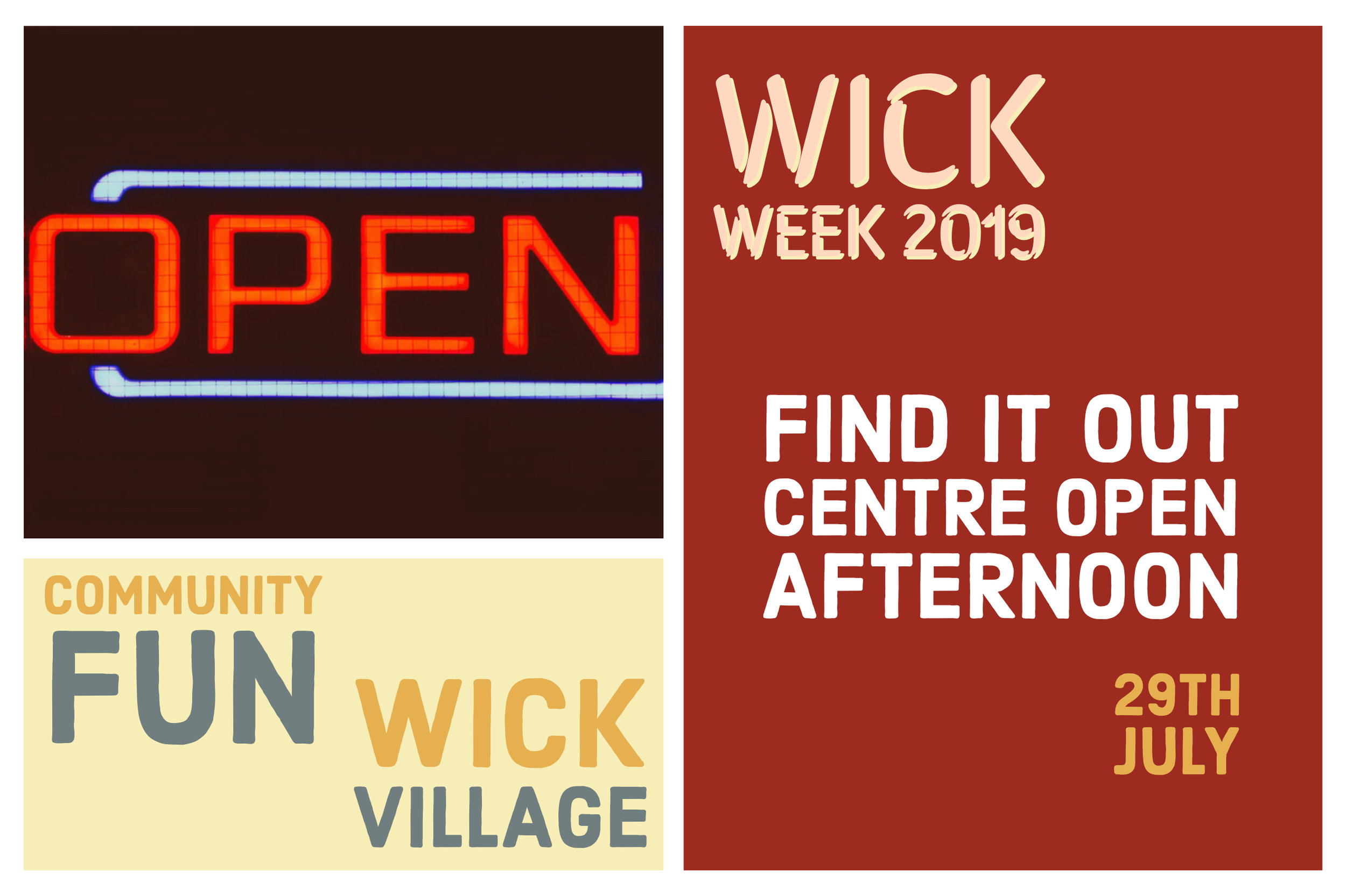 Wick Week 2019 - Find It Out Centre Open Afternoon.