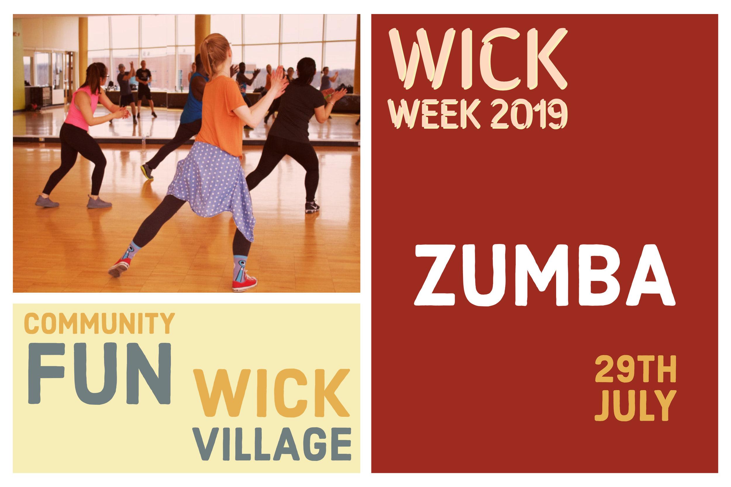 Wick Week 2019 - Zumba.