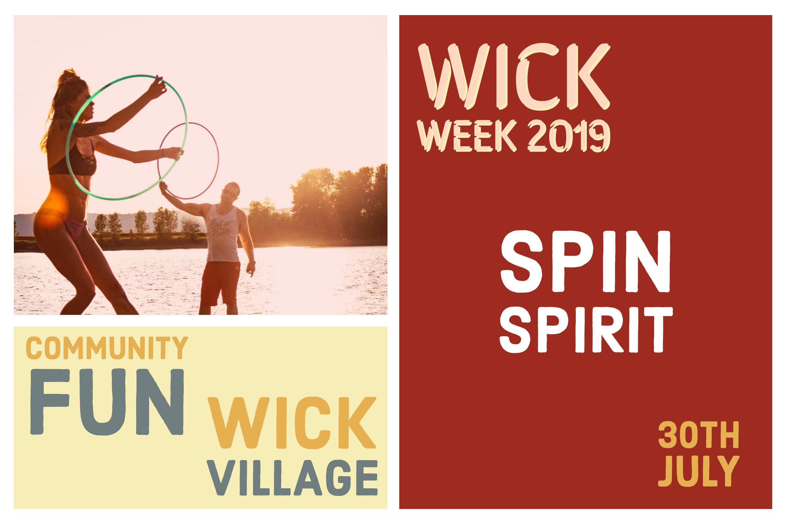 Wick Week 2019 - Spin Spirit.