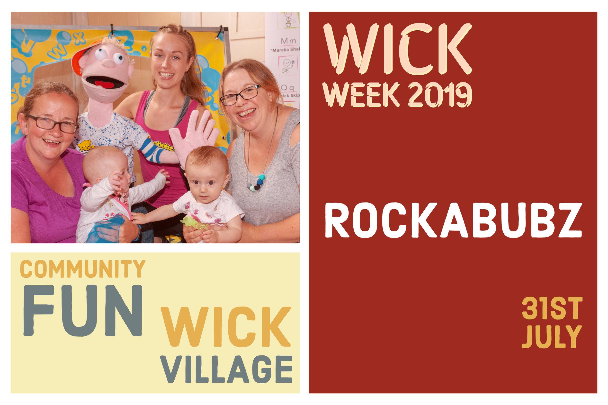 Wick Week 2019 - Rockabubz.