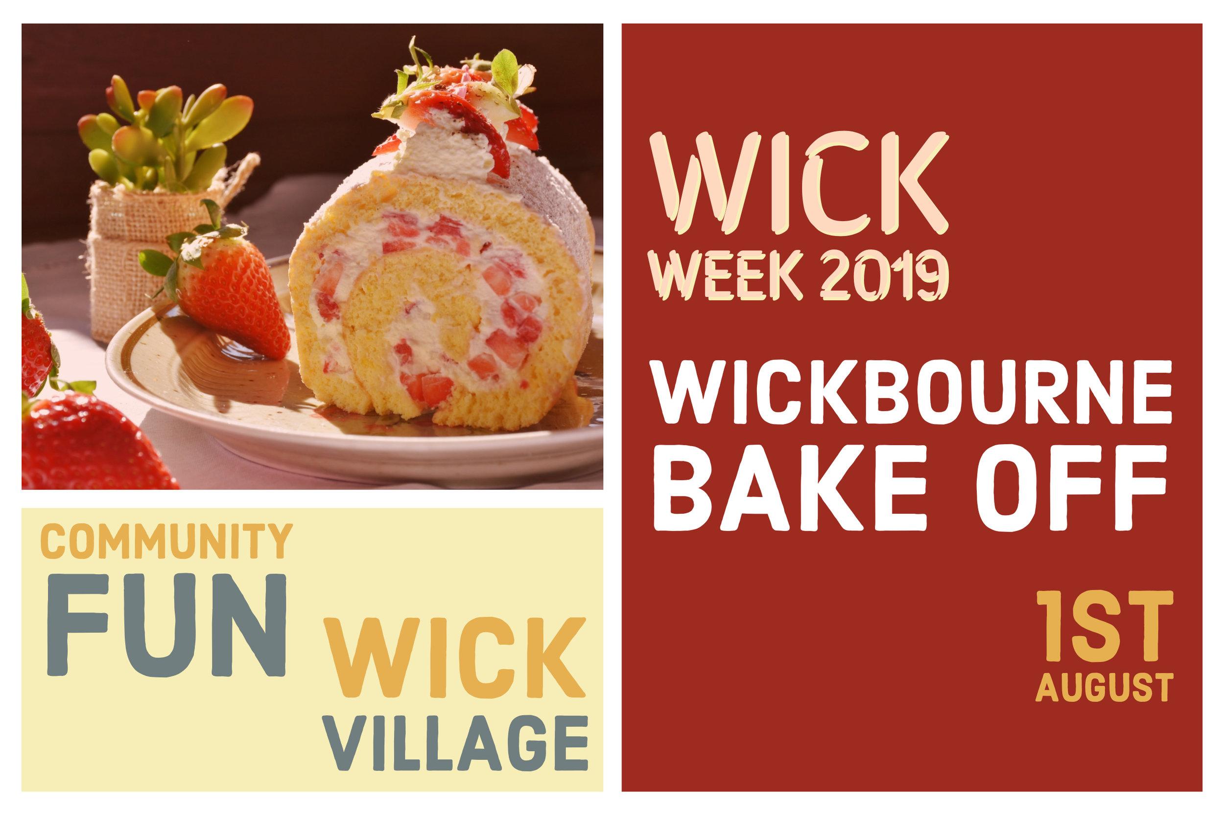 Wick Week 2019 - Wickbourne Bake Off.