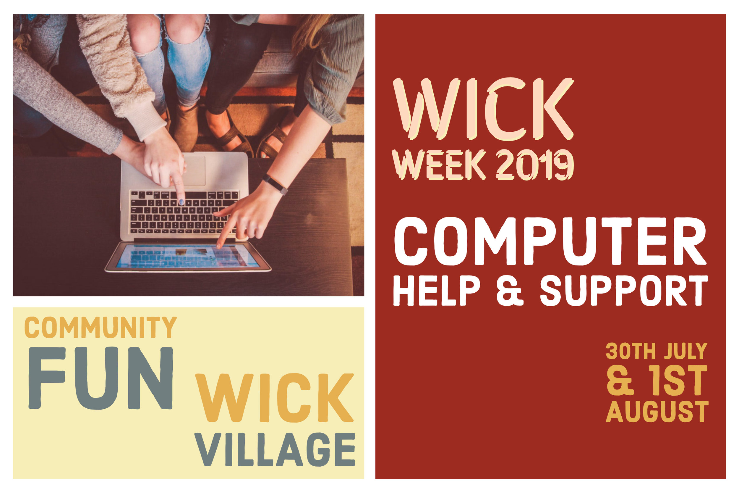 Wick Week 2019 - Computer Help And Support.