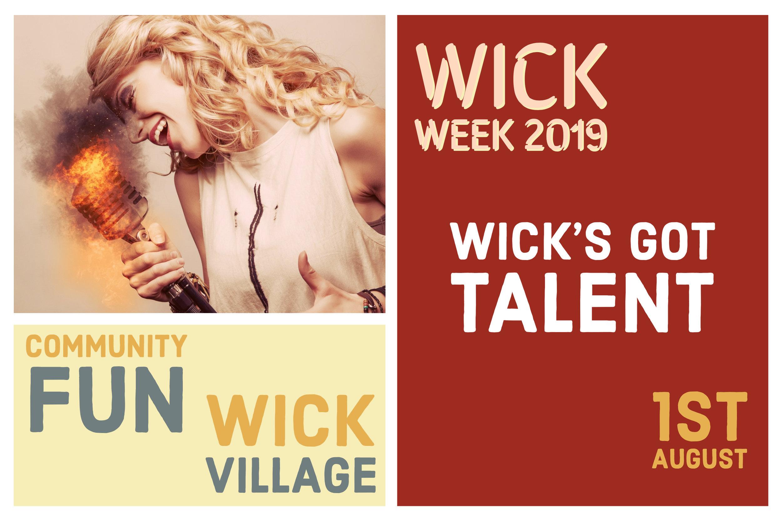 Wick Week 2019 - Wick's Got Talent.