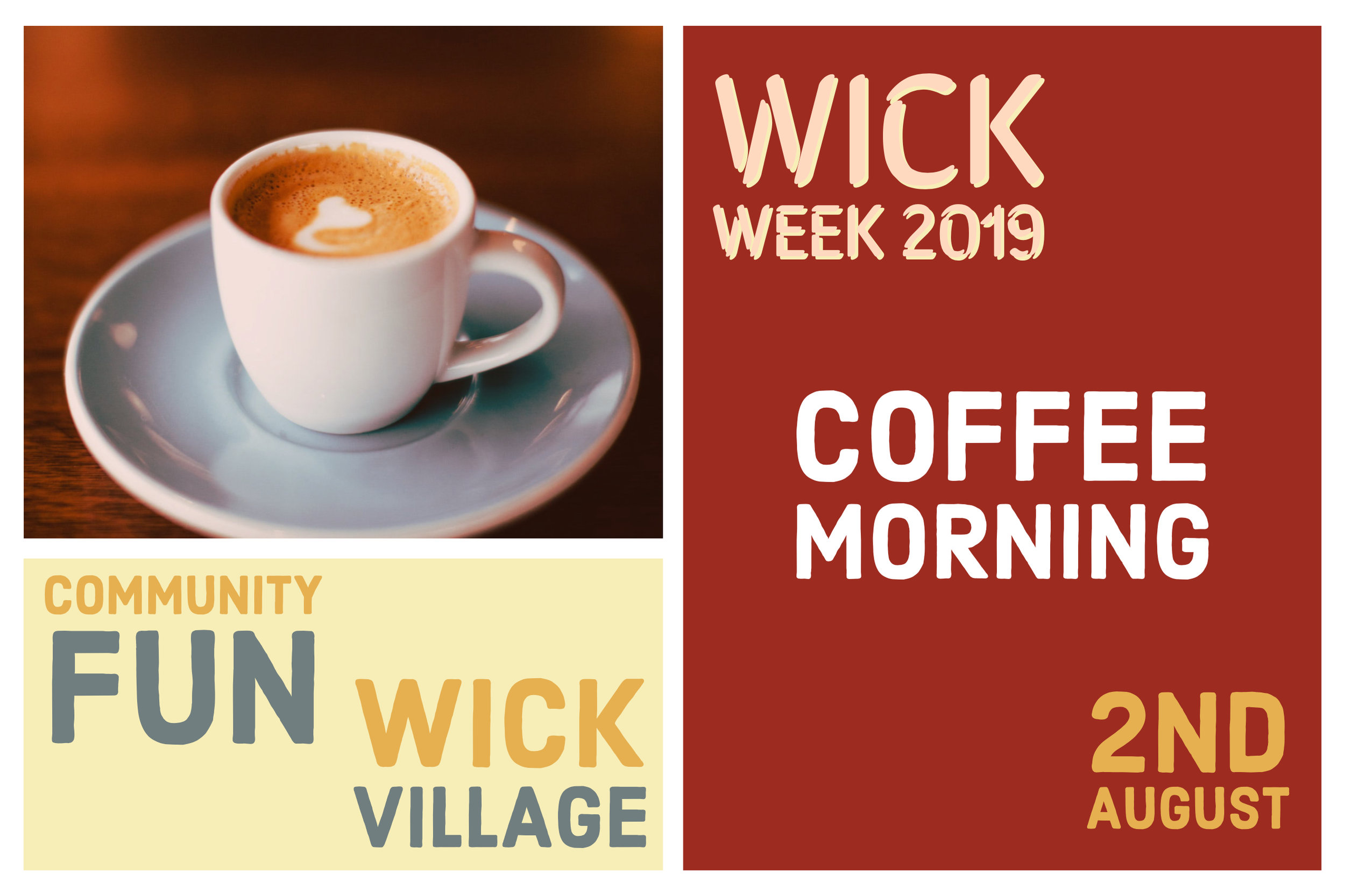 Wick Week 2019 - Coffee Morning.