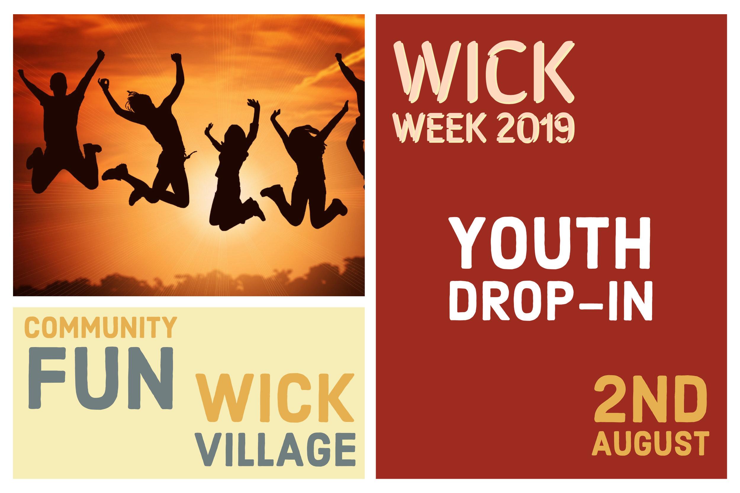 Wick Week 2019 - Youth Drop-In.