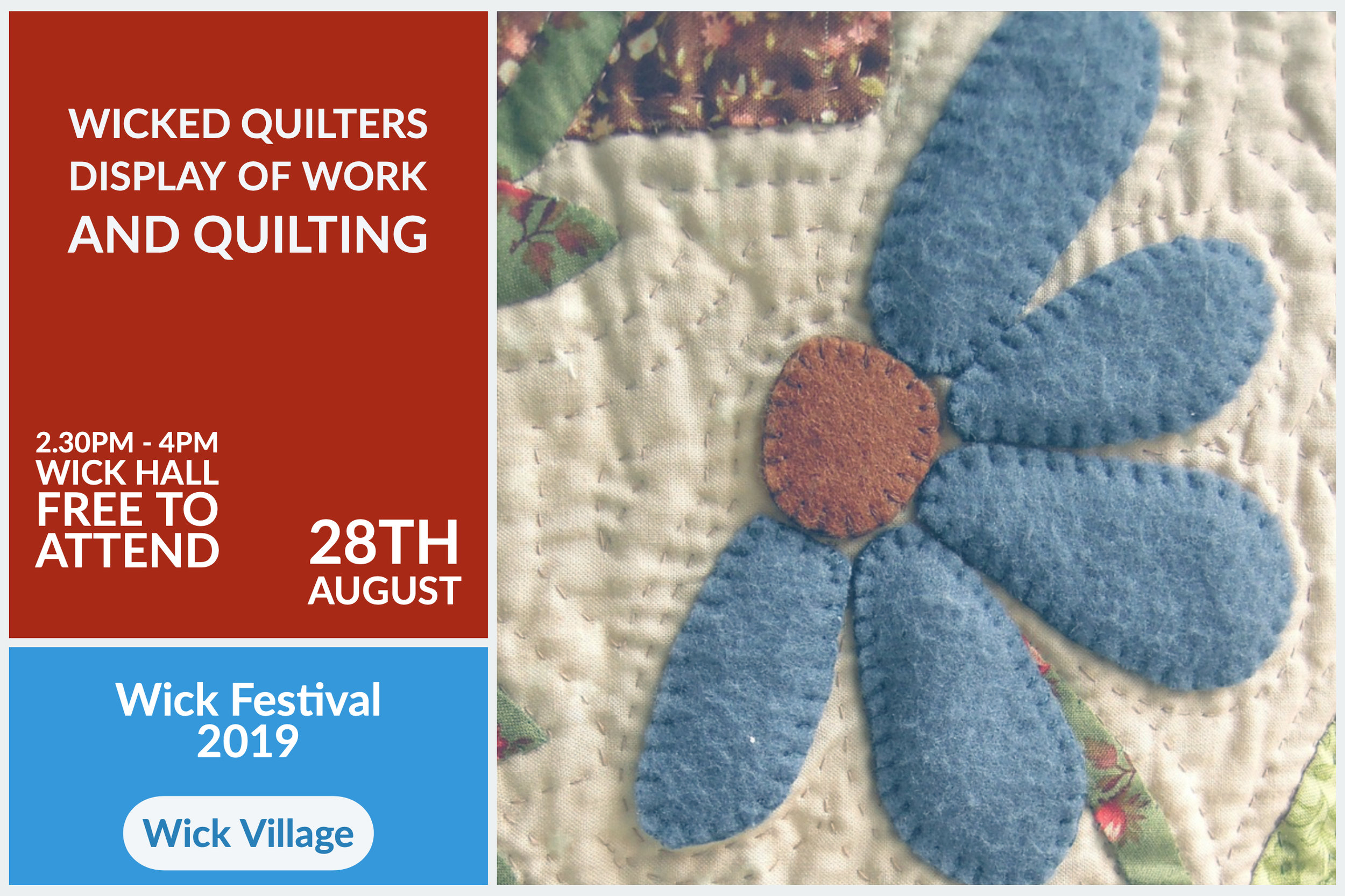 Wick Festival - Wicked Quilters