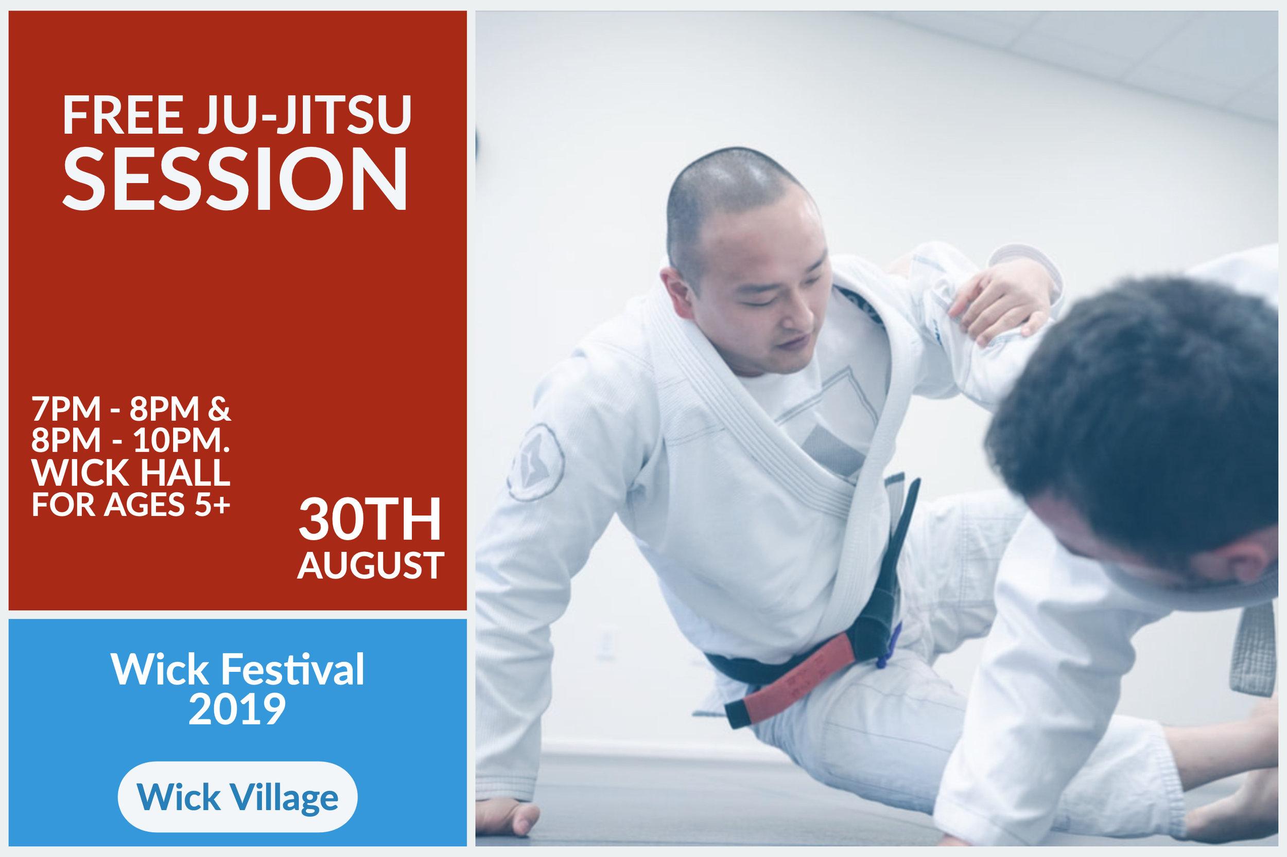 Wick Festival - Free Ju-Jitsu Session