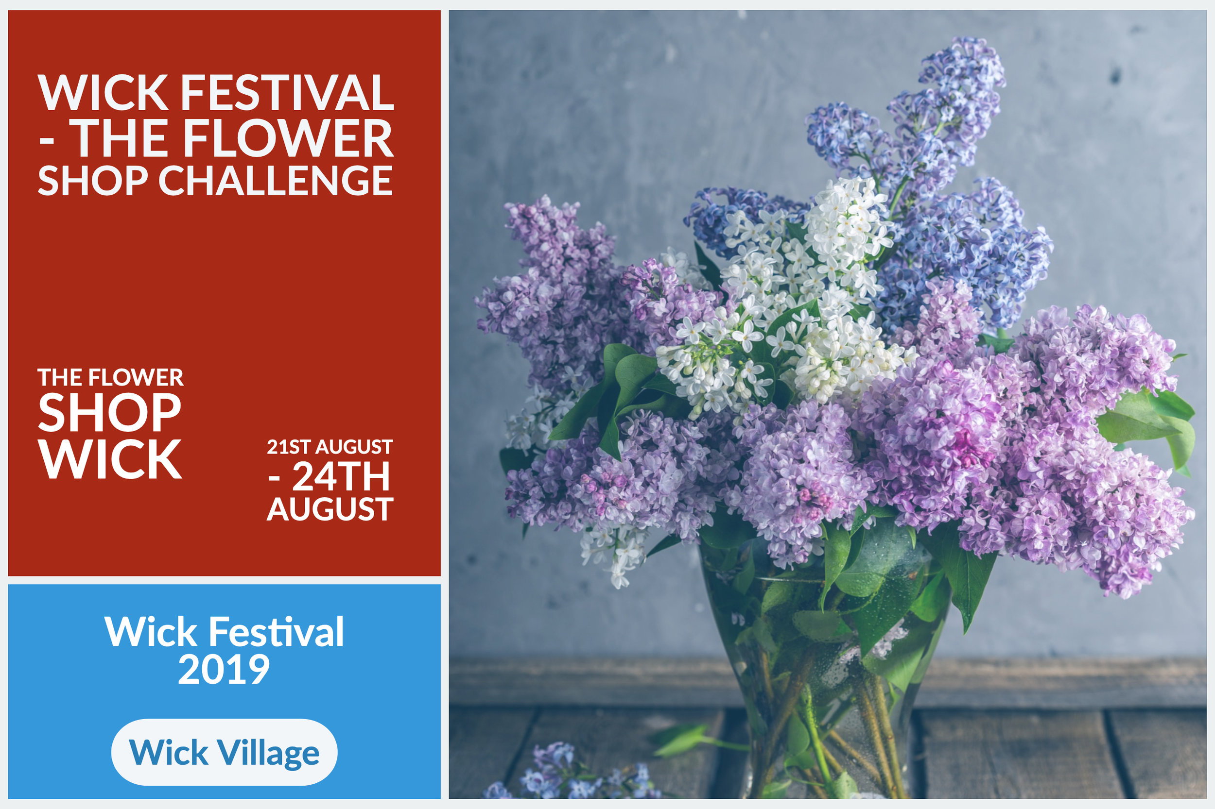 Wick Festival - The Flower Shop Challenge