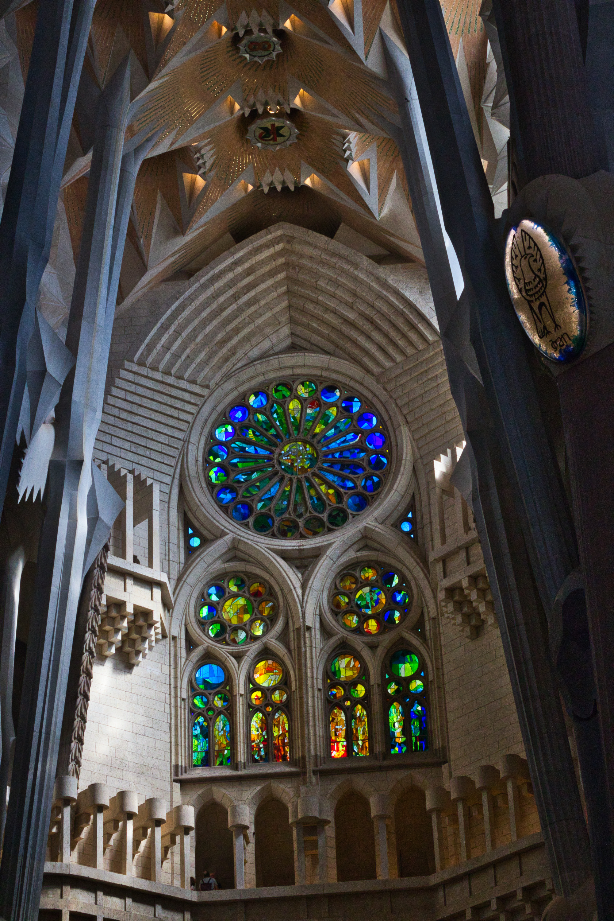 """On whether Gaudí was concerned by the time it was taking to build, he remarked, """"My client is not in a hurry,"""" referring to God.   Photo: Courtany Schick"""