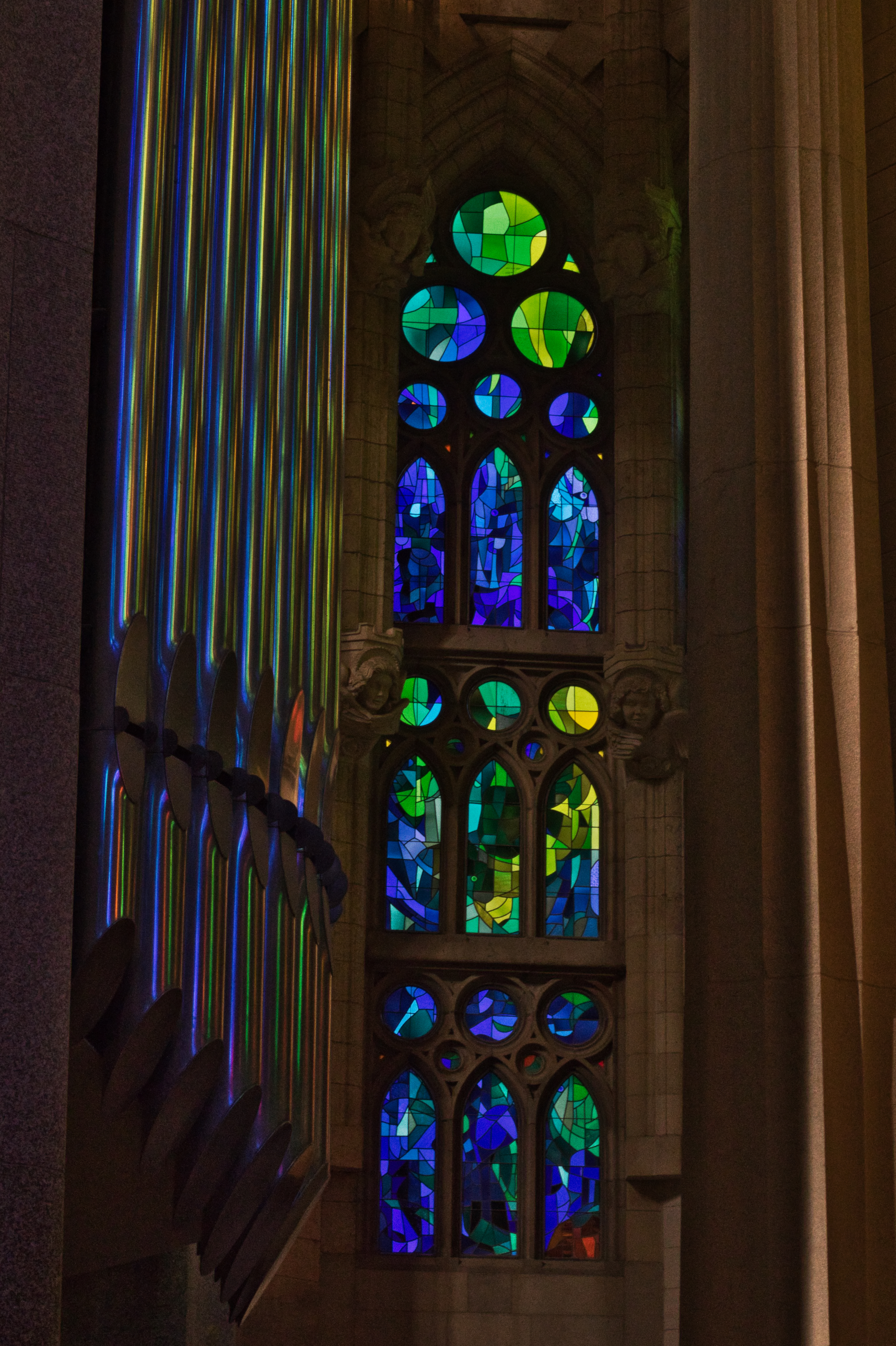 In 2010, an organ with 1,492 pipes was installed.   Photo: Courtany Schick
