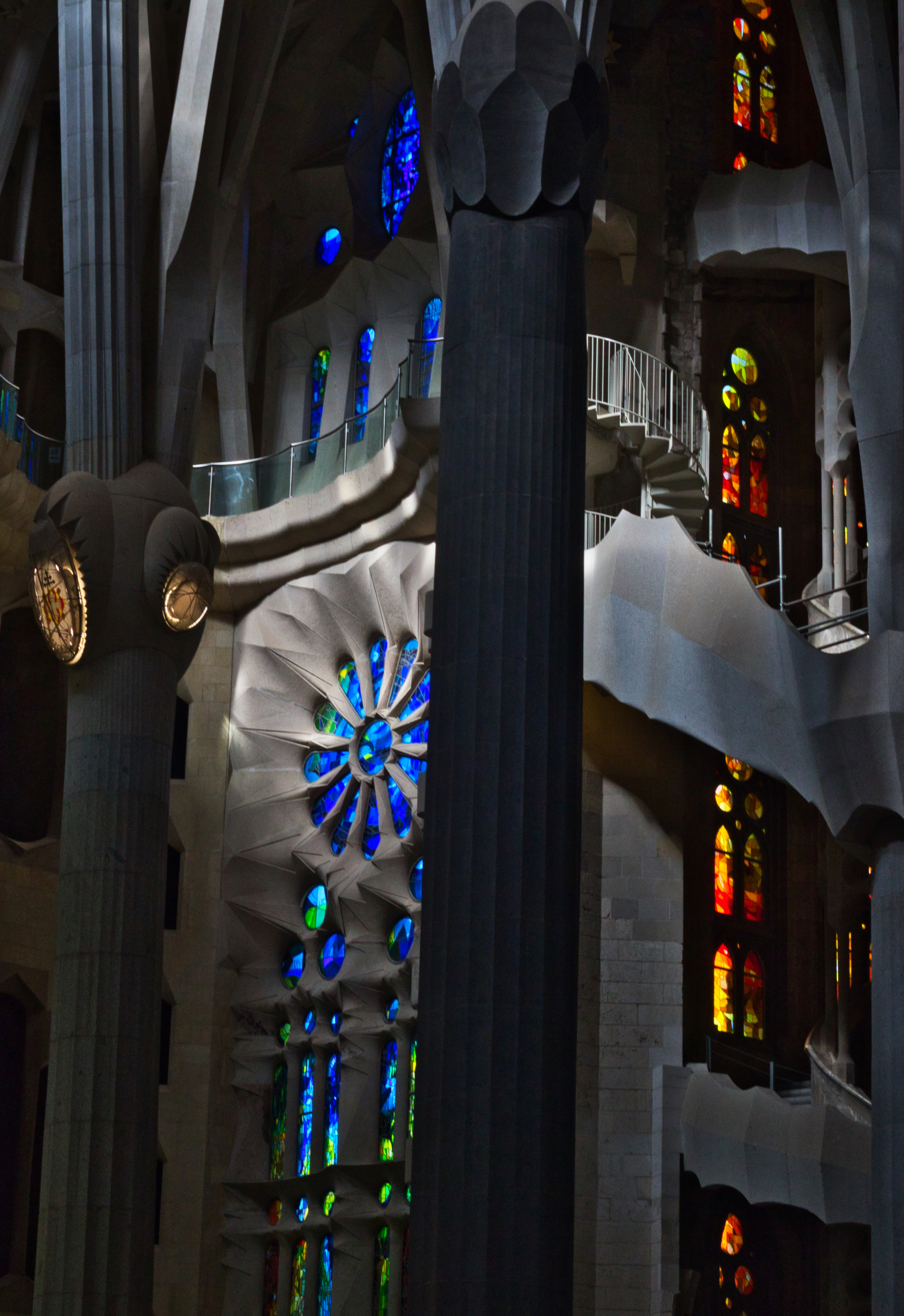 """Gaudí is quoted saying, """"In the Sagrada Família, everything is providential.""""   Photo: Courtany Schick"""