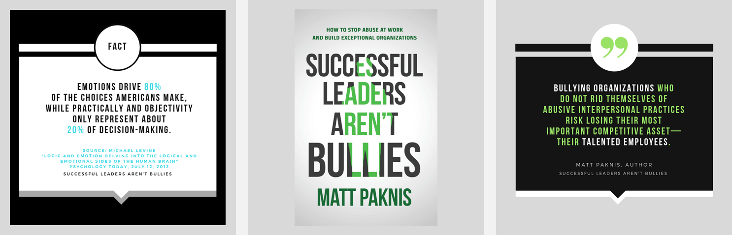 """Successful Leaders Aren't Bullies"" by Matt Paknis"