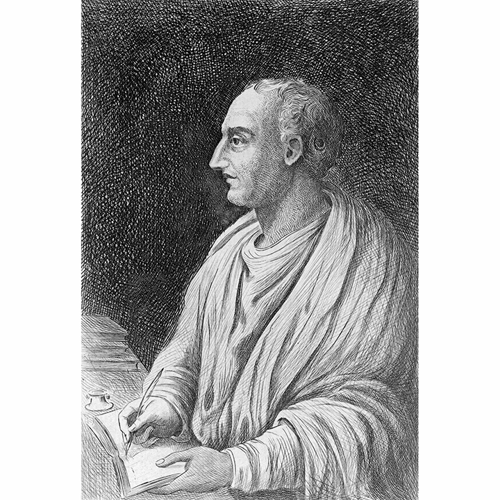 Roman historian Titus Livius (59 B.C.E. - 17 C.E.)  Source:  Encyclopedia Britannica