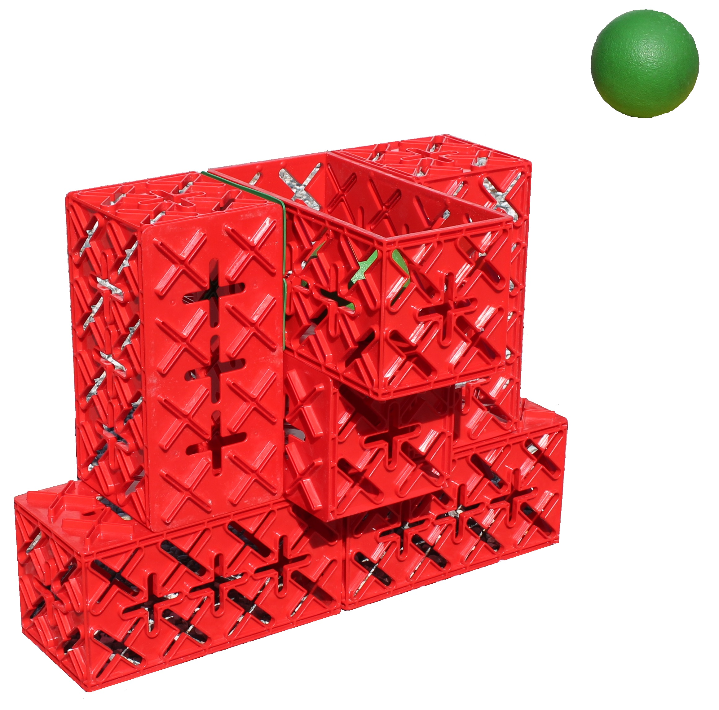BASKETKURV/POINTKURV. 6KLODSER - Så skal det kastes! Denne lille basketkurv er 67,5 cm høj, og super sjov at kaste bolde ned i :) 1 Point = 1 High five!