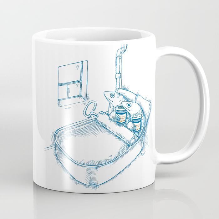 Cup O' Coffee NYC_sardines Mug